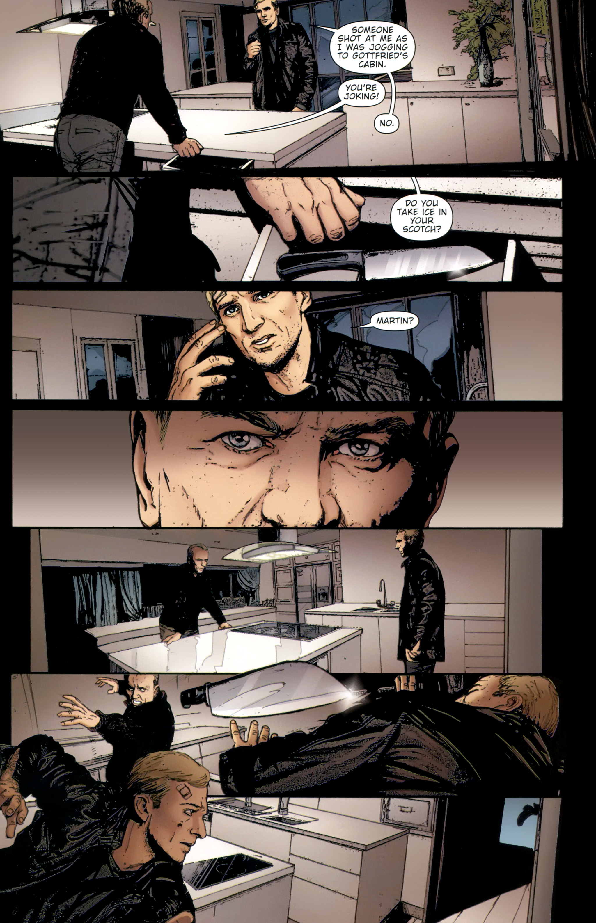 Read online The Girl With the Dragon Tattoo comic -  Issue # TPB 2 - 81
