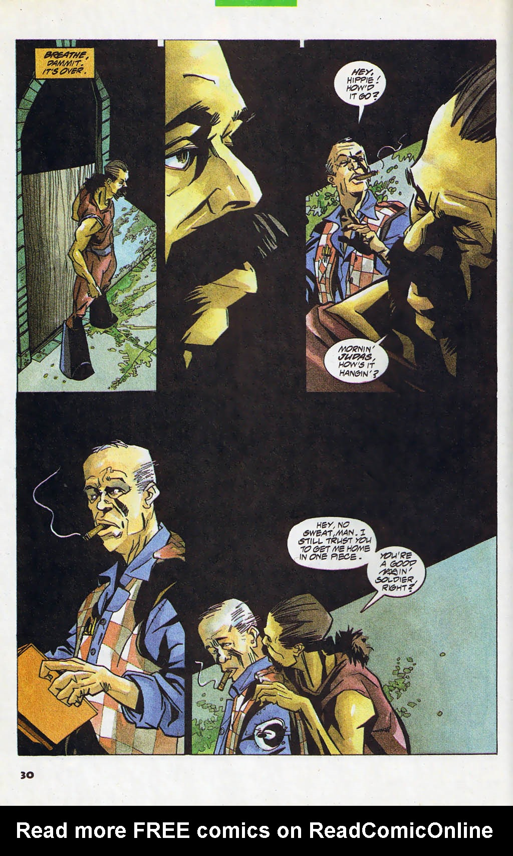 Read online Shadow Cabinet comic -  Issue #4 - 22