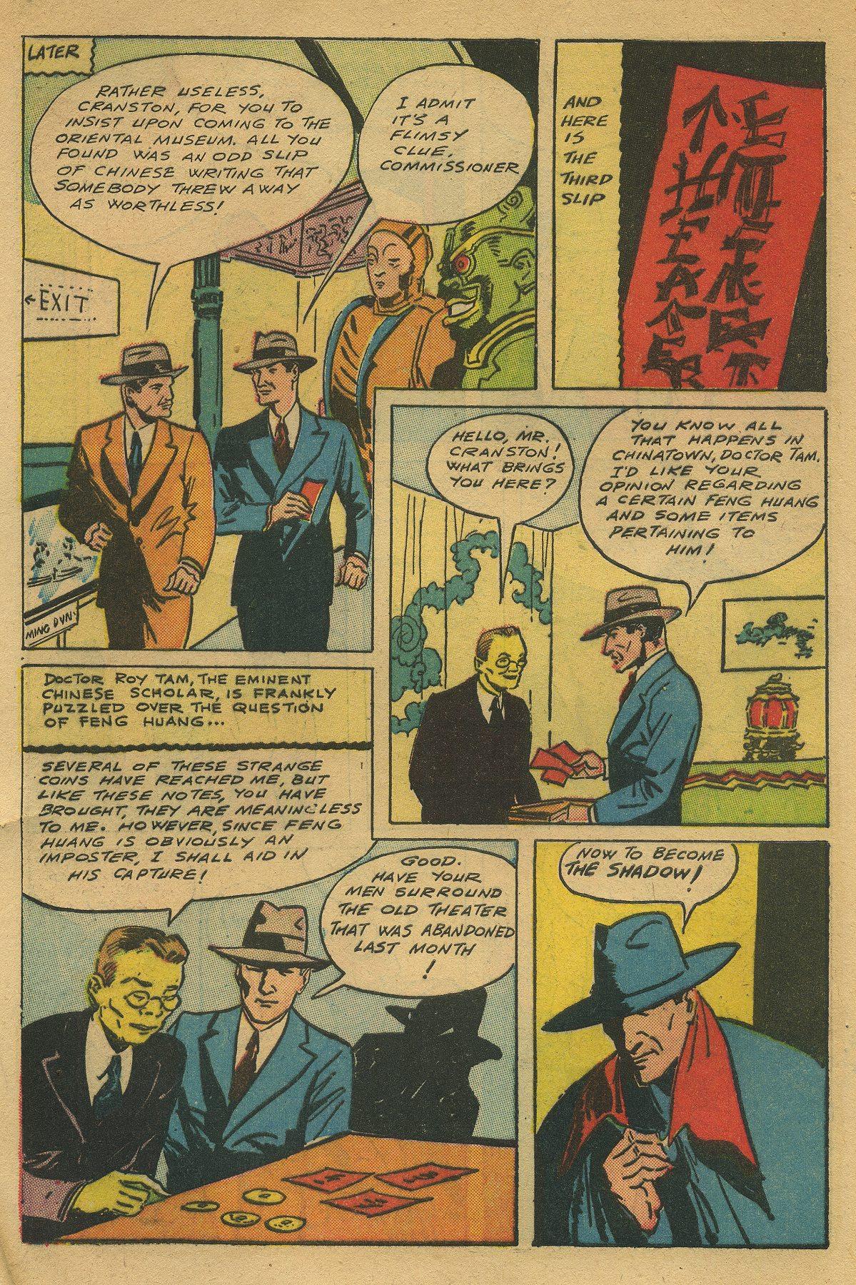 Read online Shadow Comics comic -  Issue #49 - 8