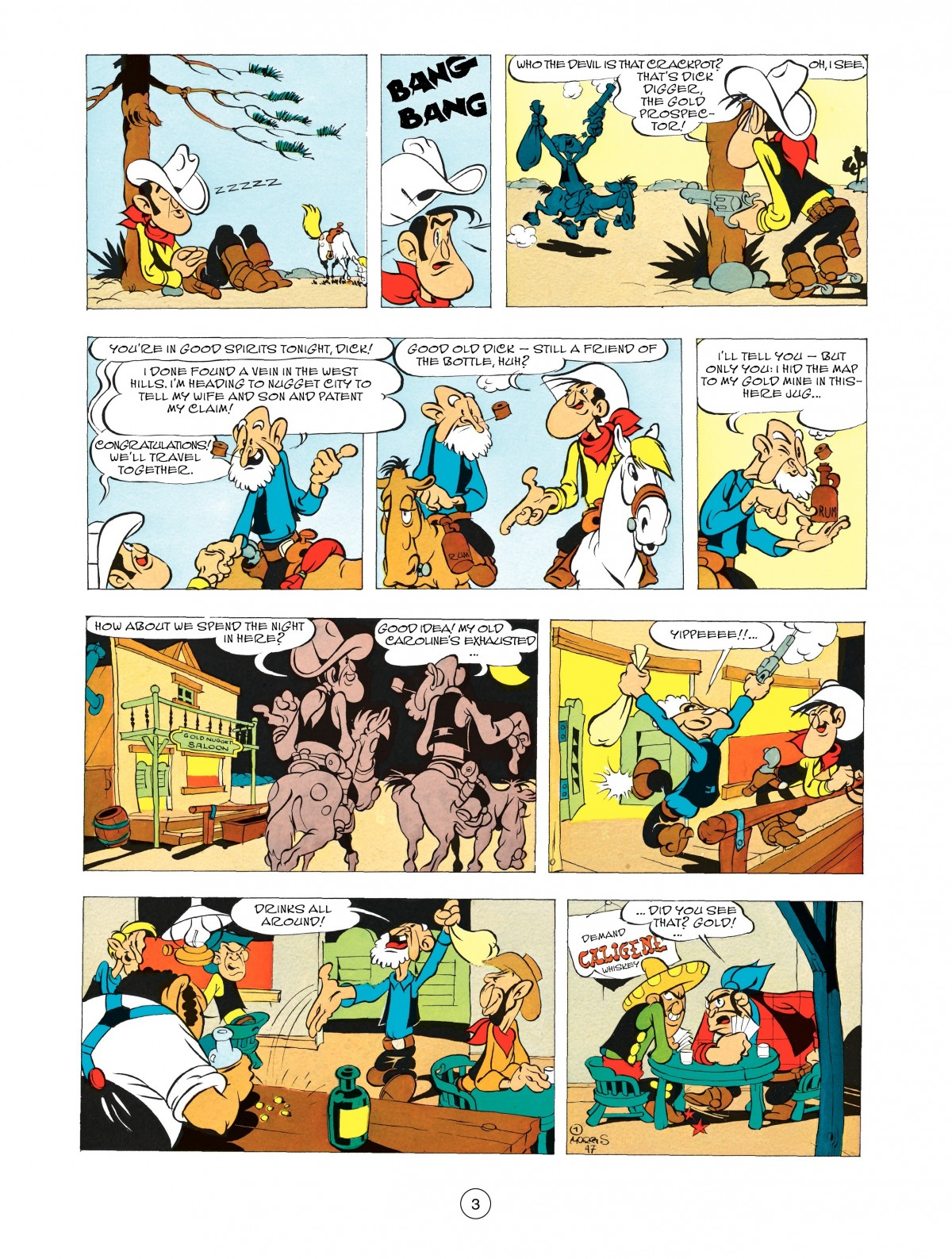 Read online A Lucky Luke Adventure comic -  Issue #48 - 3