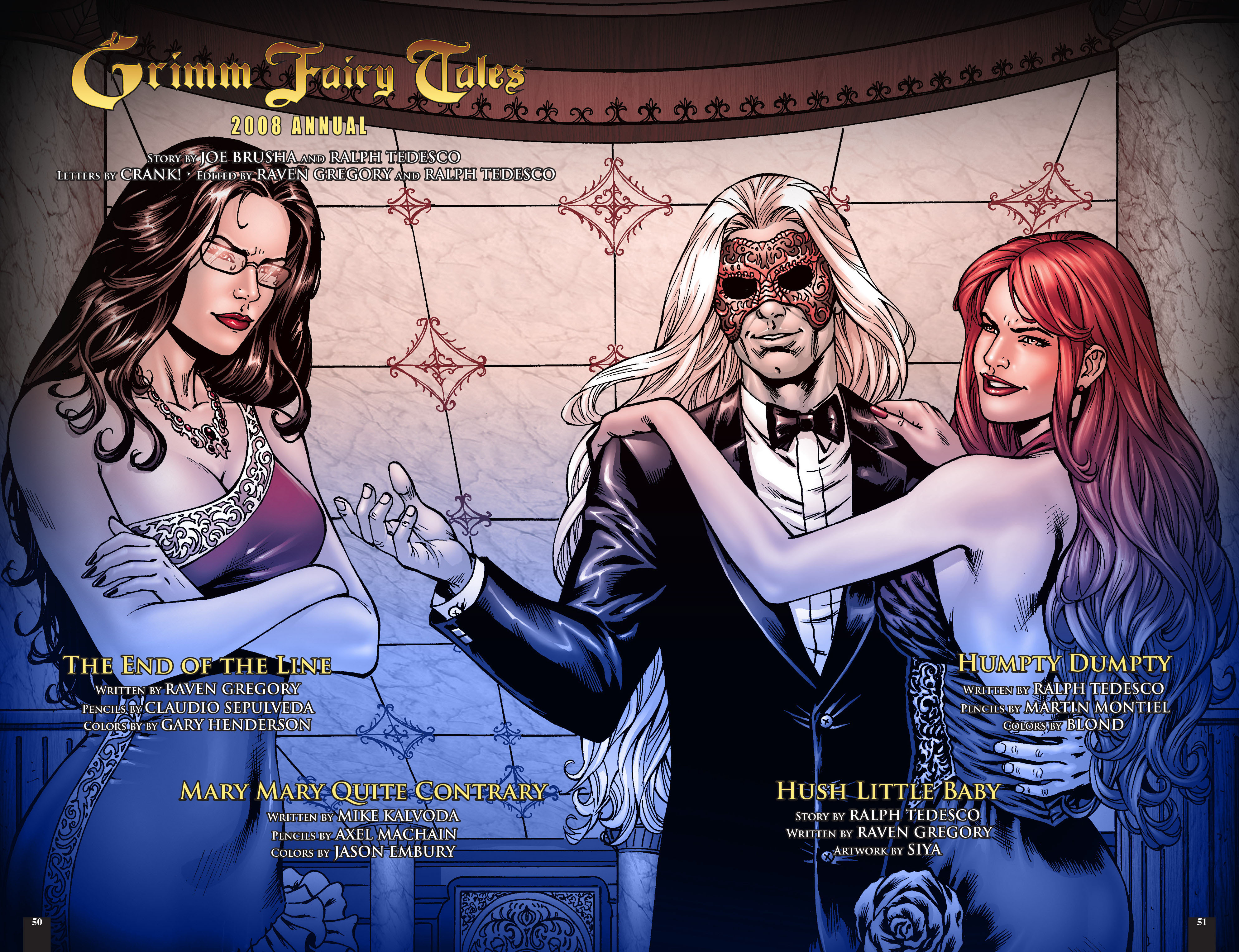 Read online Grimm Fairy Tales: Different Seasons comic -  Issue # TPB 2 - 50