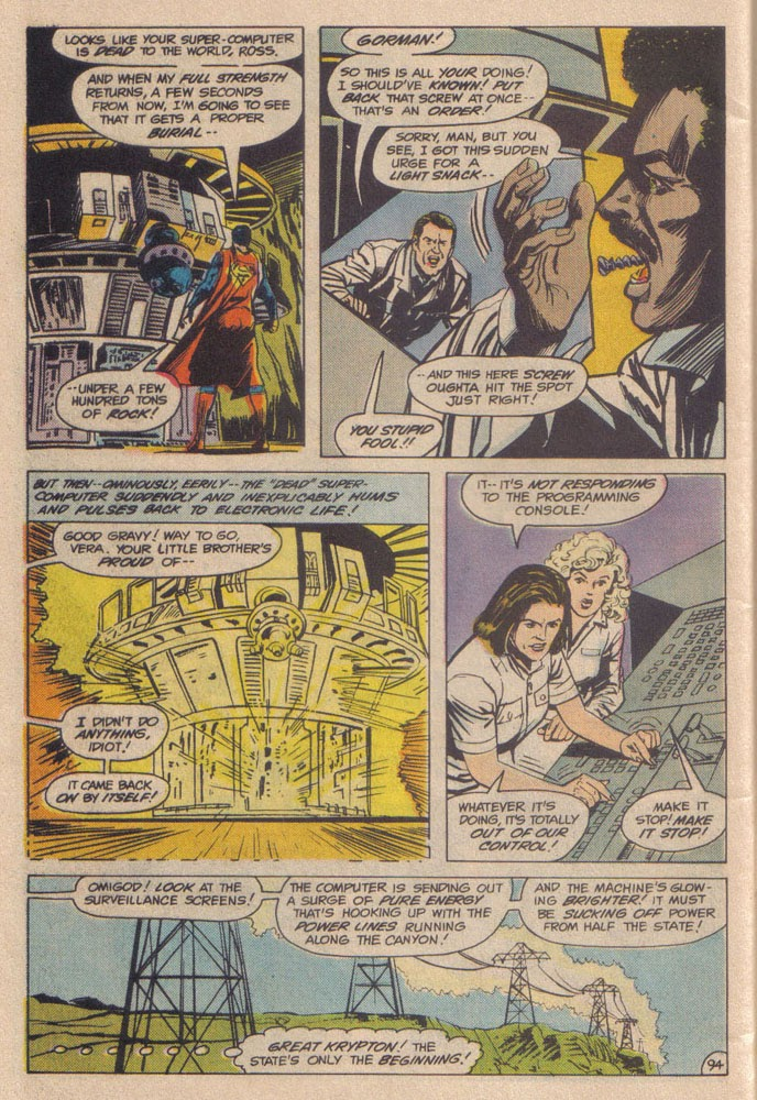 Read online Superman III comic -  Issue # Full - 46
