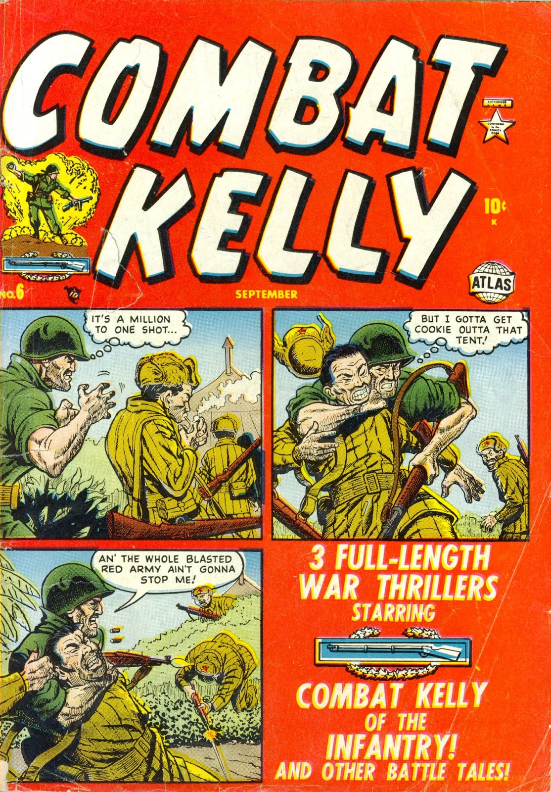 Combat Kelly (1951) 6 Page 1
