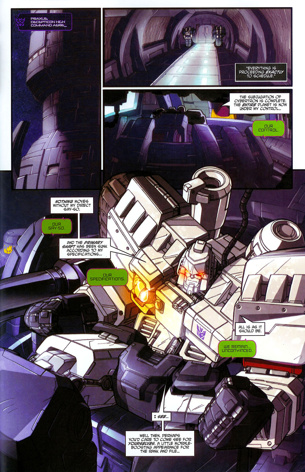 """Read online Transformers War Within: """"The Age of Wrath"""" comic -  Issue #2 - 17"""
