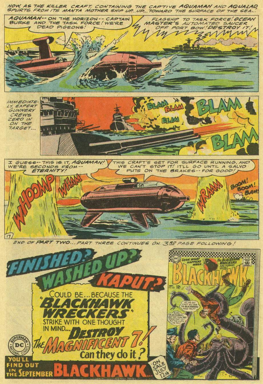 Read online Aquaman (1962) comic -  Issue #29 - 22