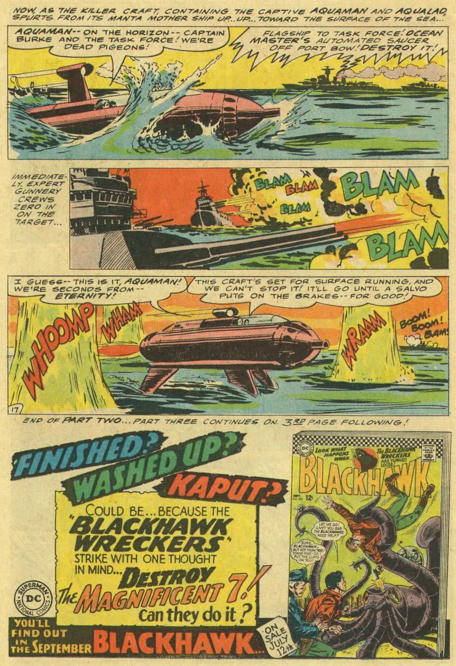 Aquaman (1962) Issue #29 #29 - English 22