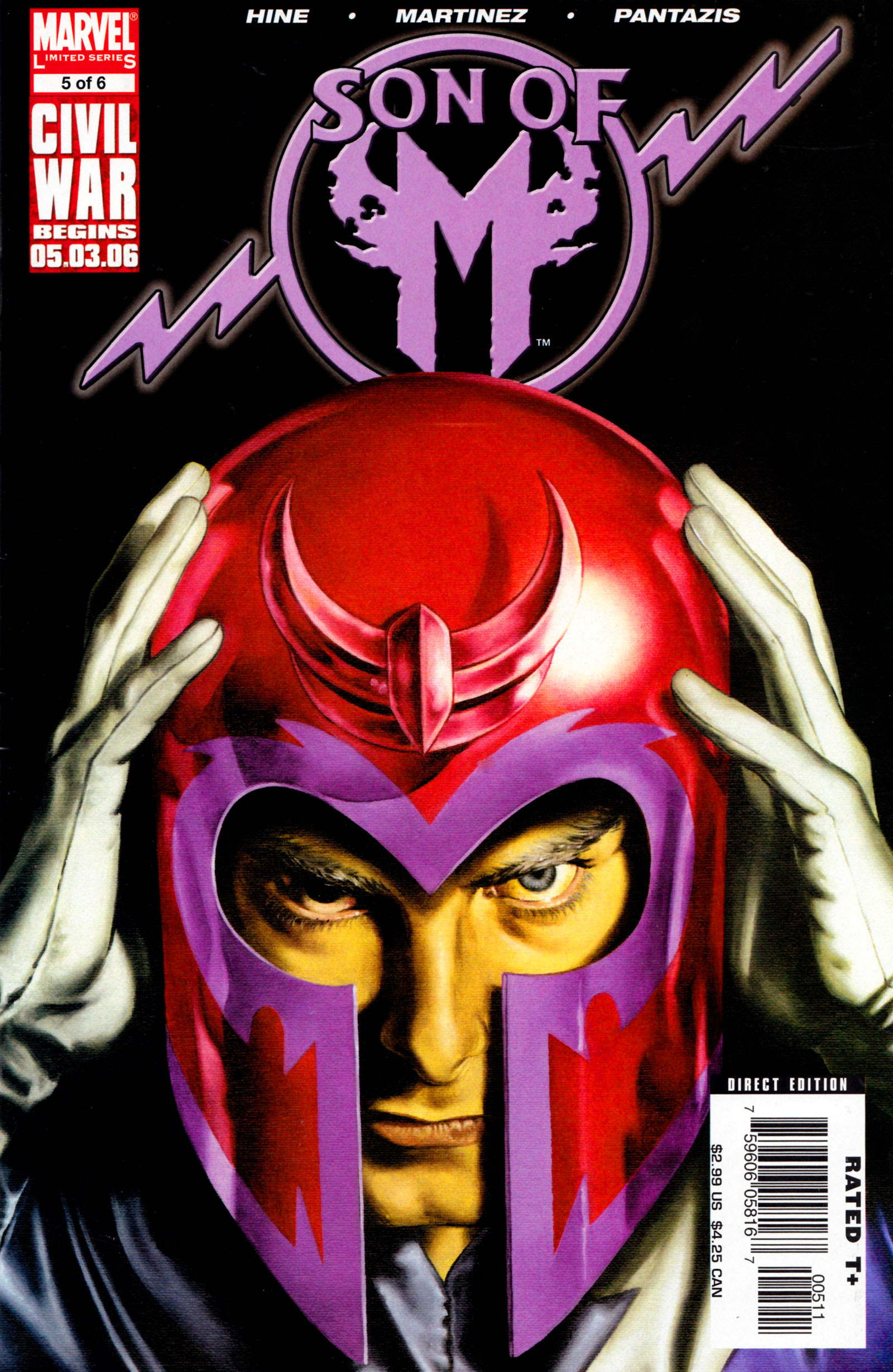 Read online Son of M comic -  Issue #5 - 1