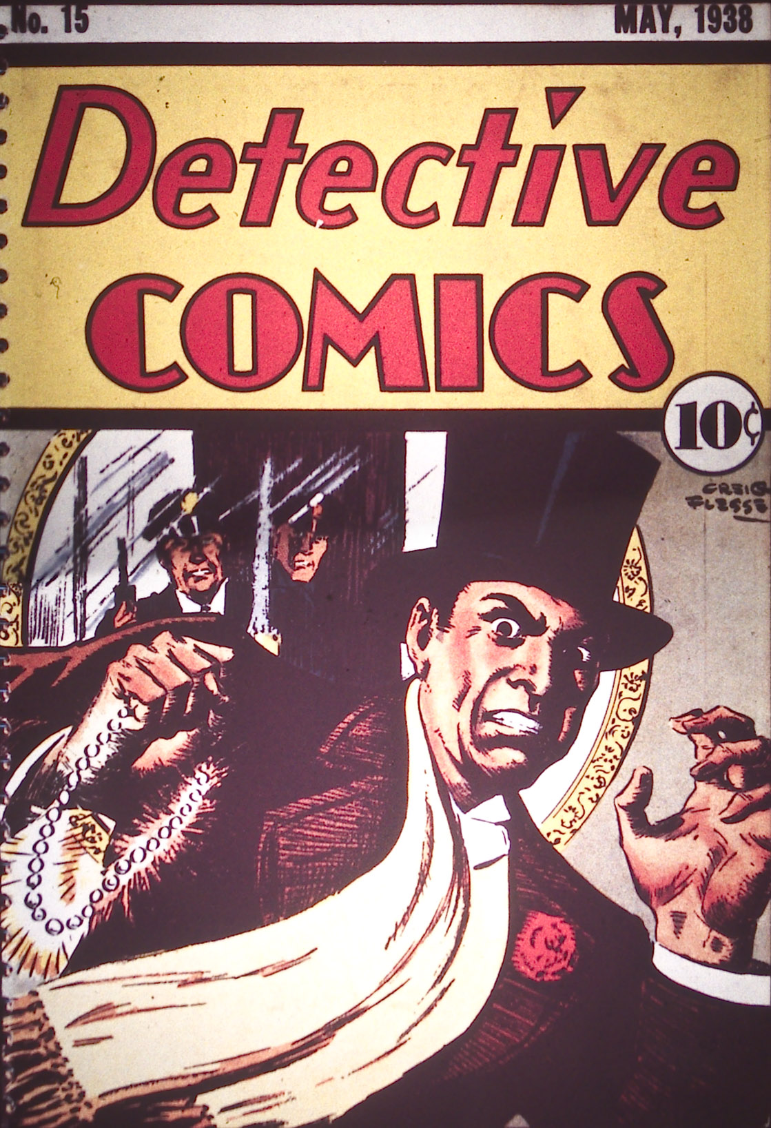 Read online Detective Comics (1937) comic -  Issue #15 - 1
