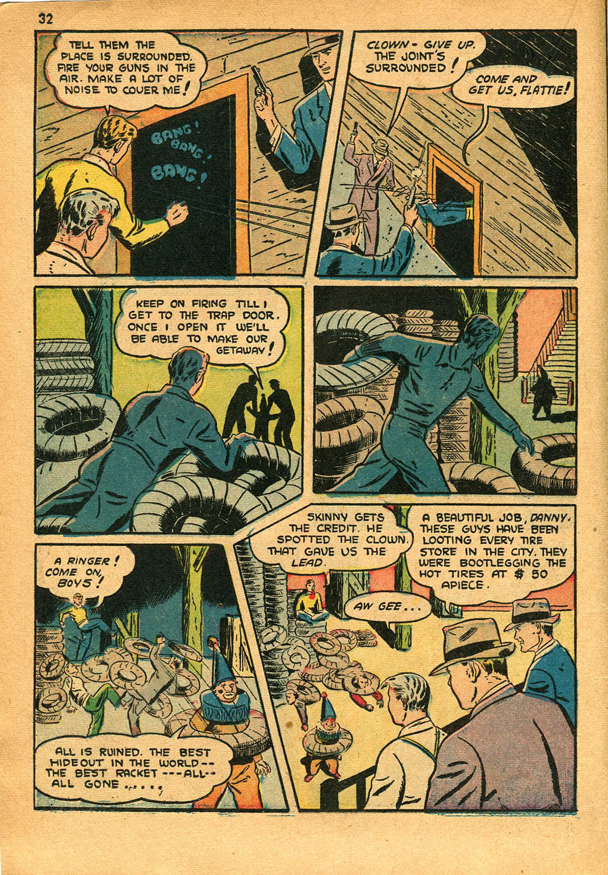 Read online Shadow Comics comic -  Issue #23 - 32