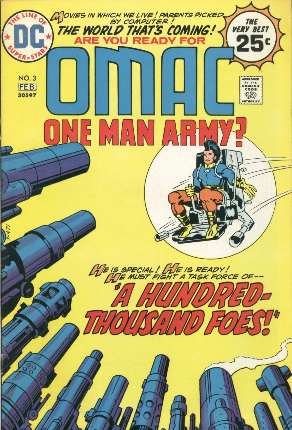 OMAC (1974) 3 Page 1