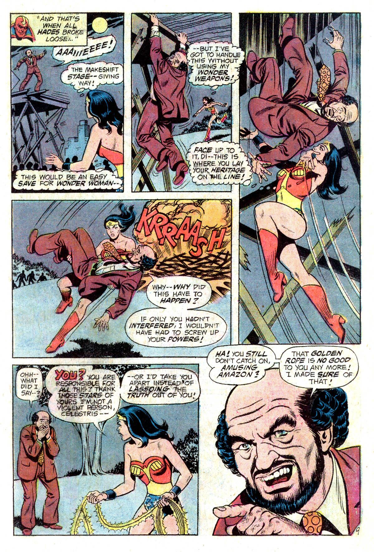Read online Wonder Woman (1942) comic -  Issue #218 - 11