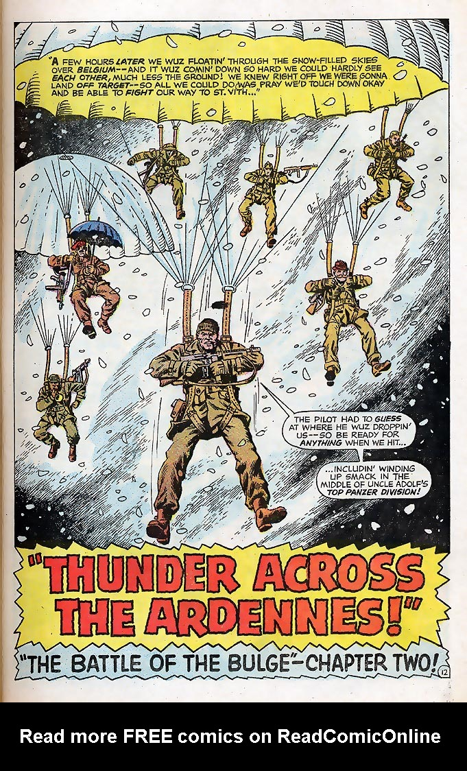 Read online Sgt. Fury comic -  Issue # _Special 4 - 15