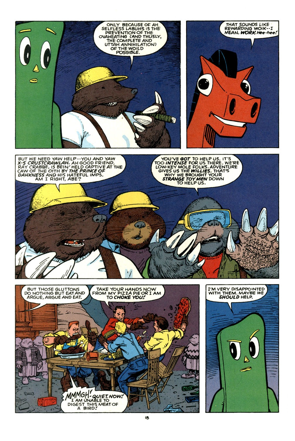 Gumby's Winter Fun Special issue Full - Page 19