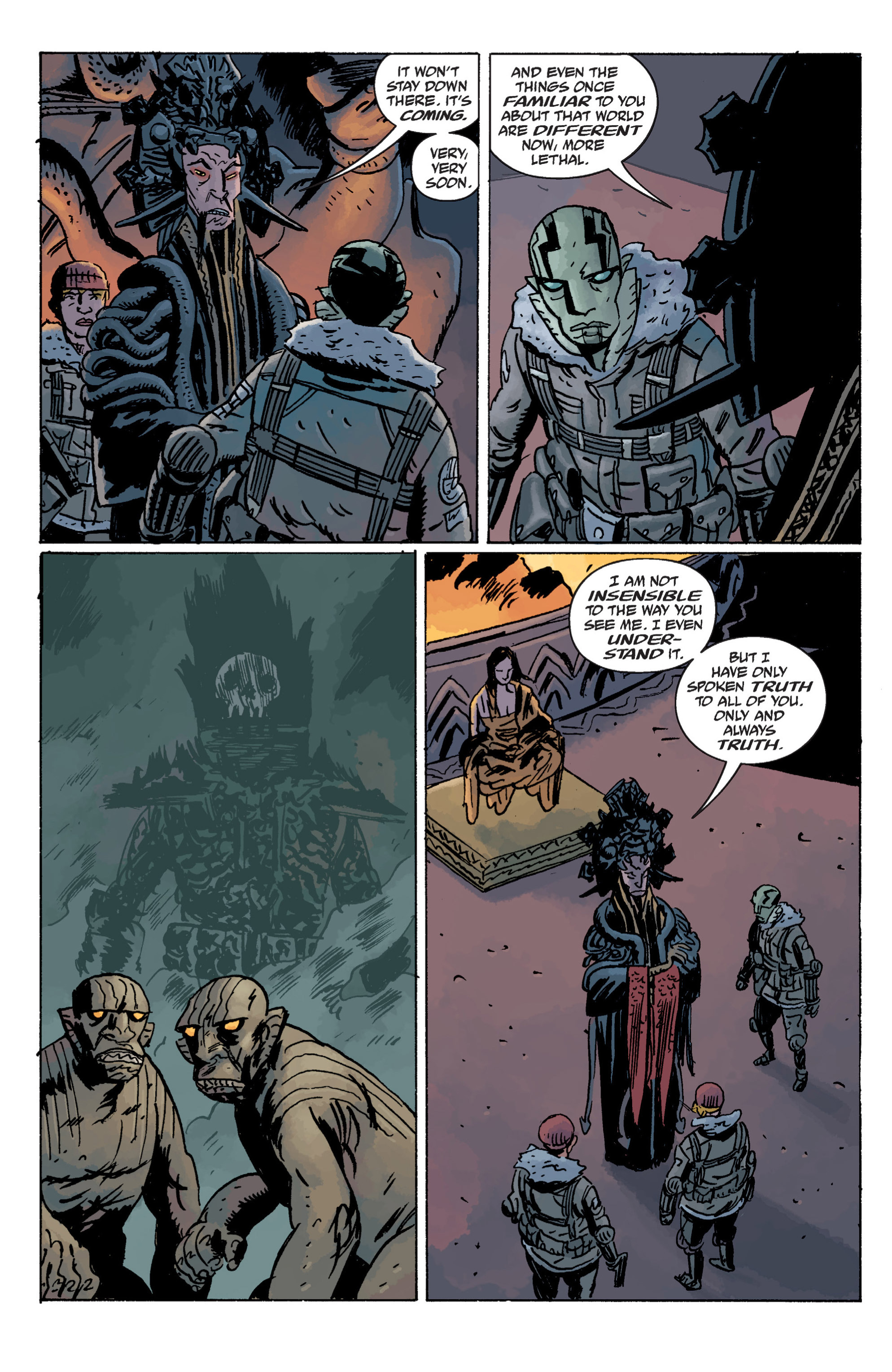 Read online B.P.R.D. (2003) comic -  Issue # TPB 11 - 52