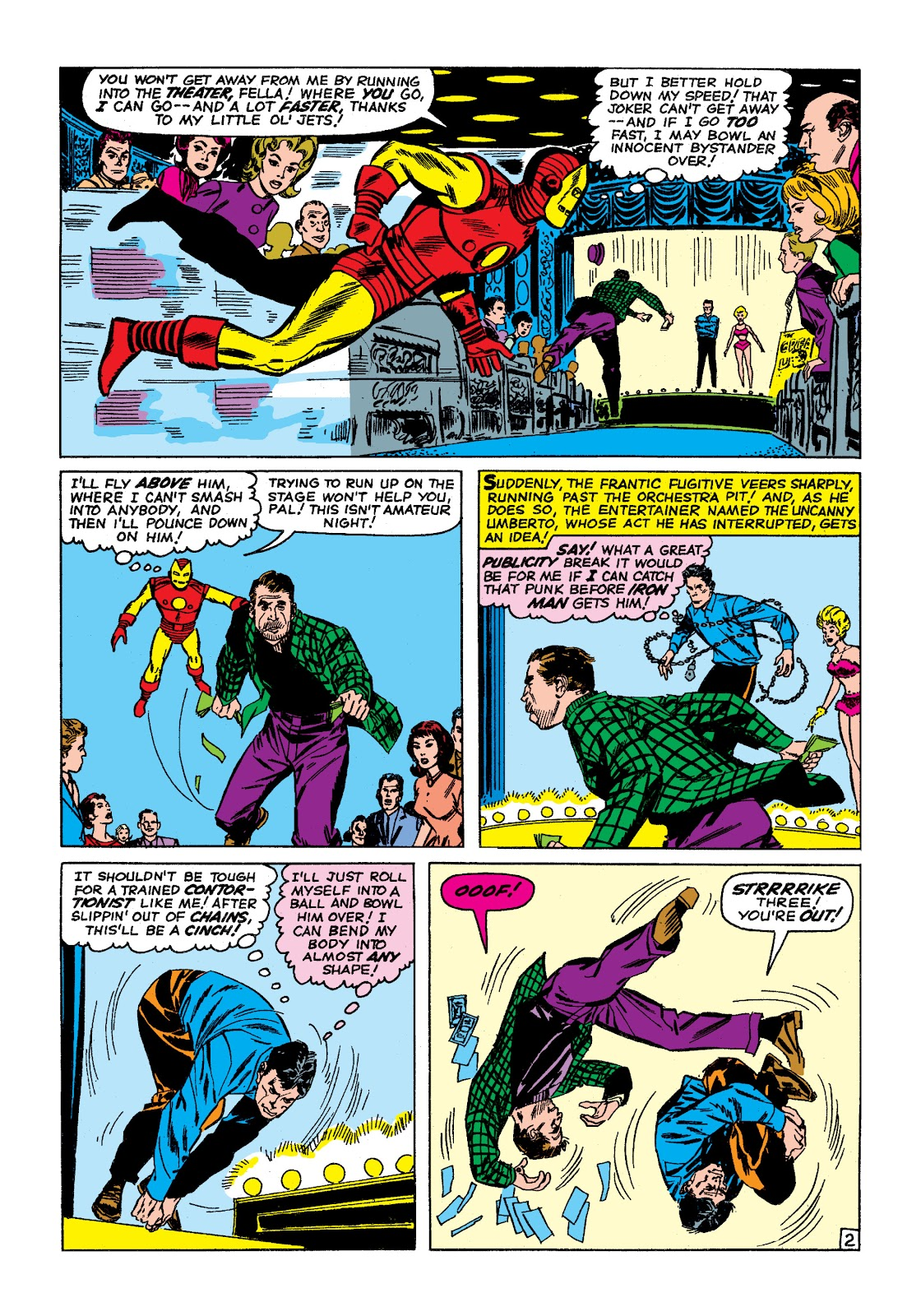 Read online Marvel Masterworks: The Invincible Iron Man comic -  Issue # TPB 2 (Part 1) - 5