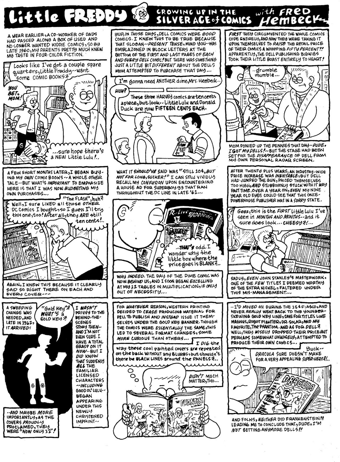 Read online The Nearly Complete Essential Hembeck Archives Omnibus comic -  Issue # TPB (Part 1) - 26