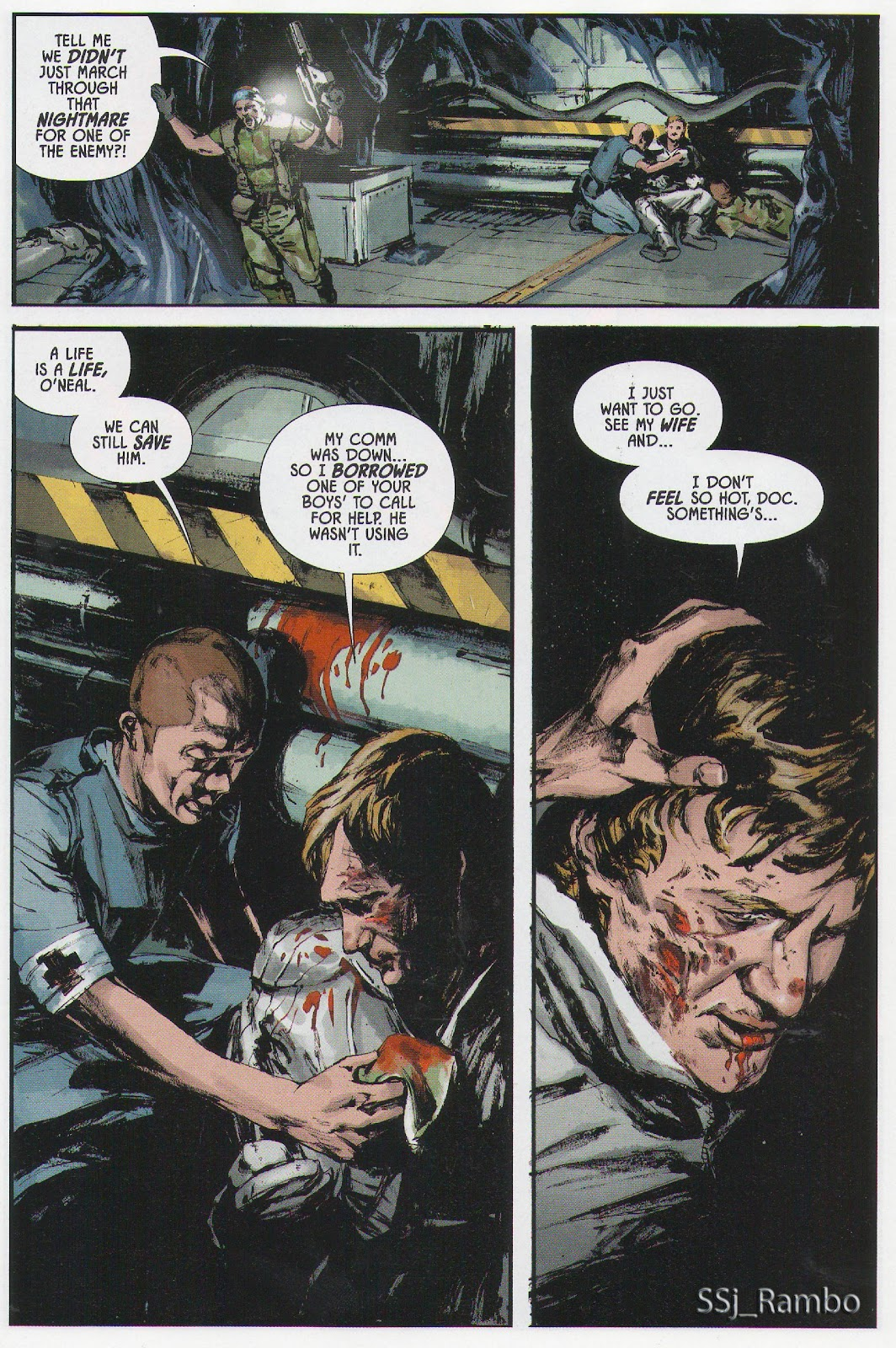 Read online Aliens: Colonial Marines - No Man Left Behind comic -  Issue # Full - 10