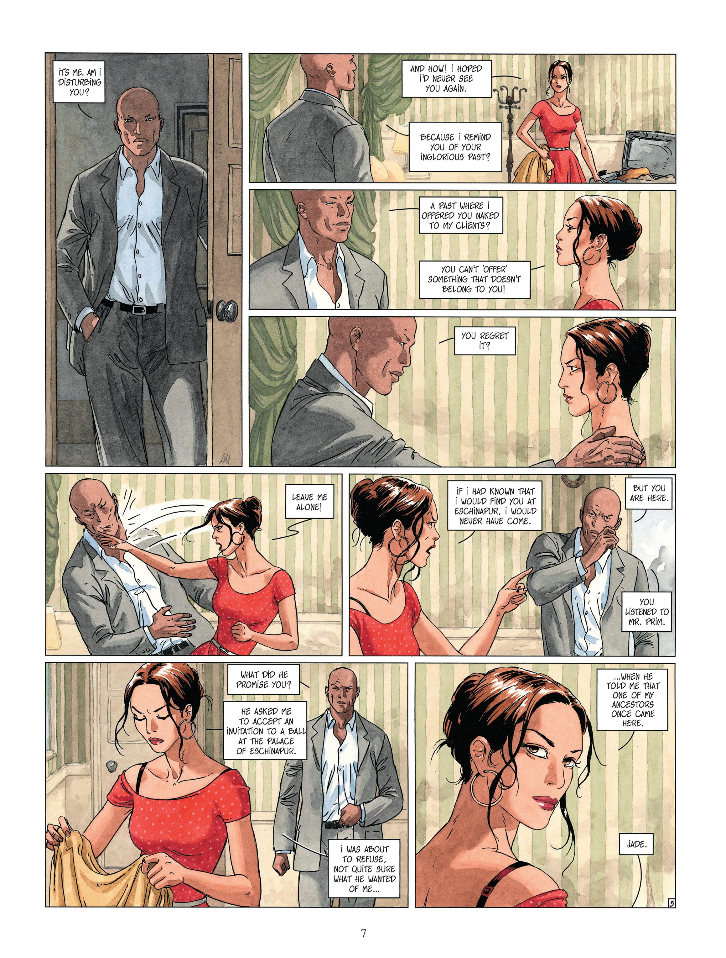 Read online Djinn comic -  Issue #13 - 8