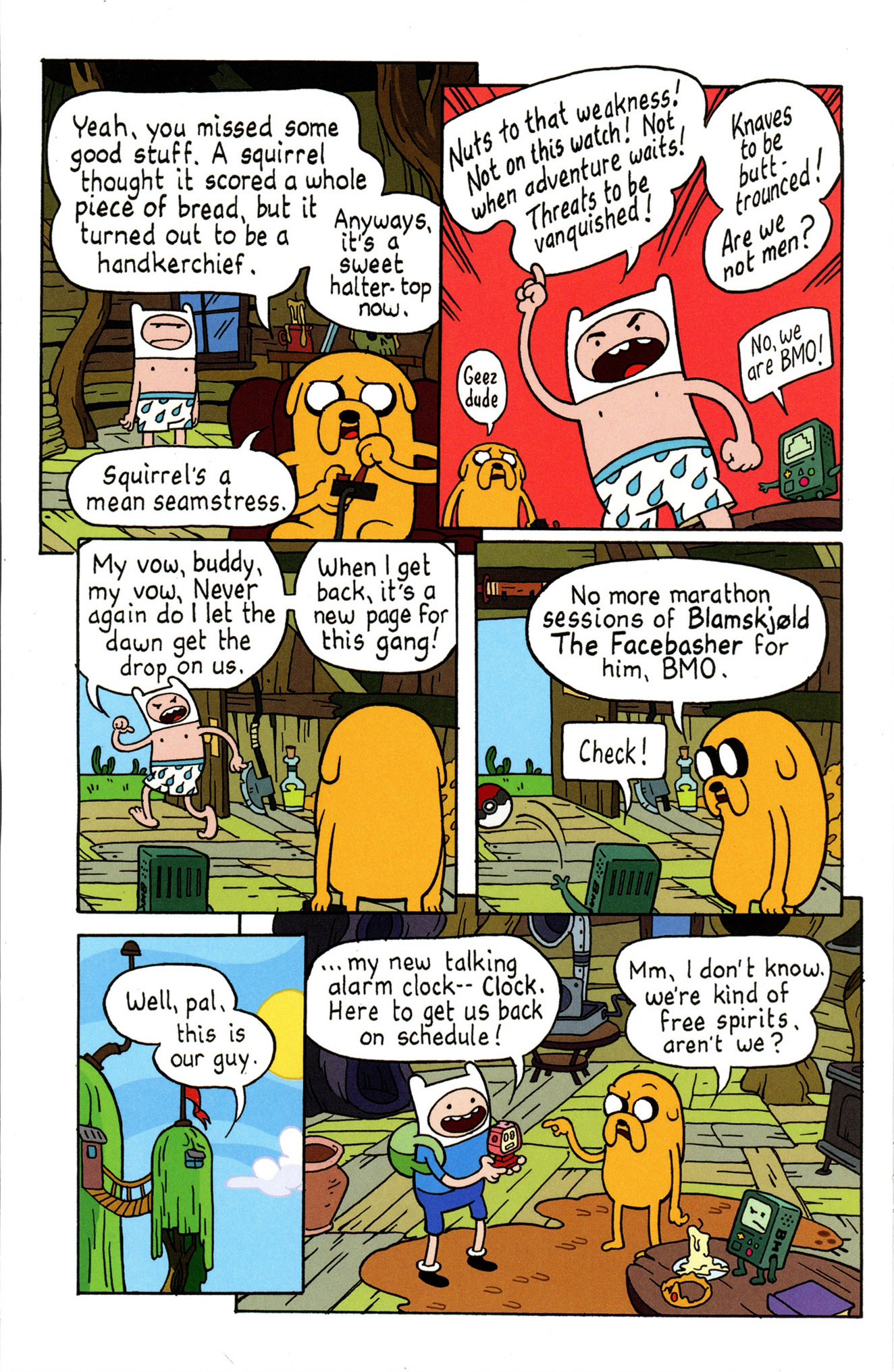 Read online Adventure Time Comics comic -  Issue #4 - 12