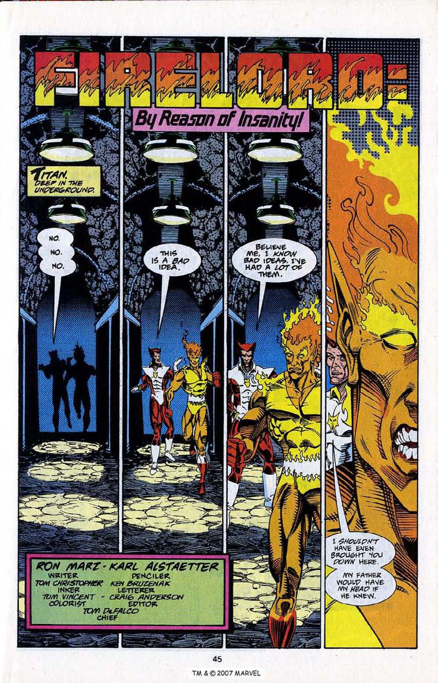 Read online Silver Surfer (1987) comic -  Issue # _Annual 5 - 47