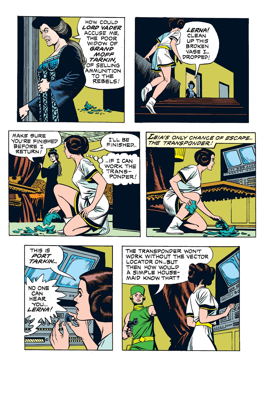 Read online Star Wars Legends: The Newspaper Strips - Epic Collection comic -  Issue # TPB (Part 2) - 60