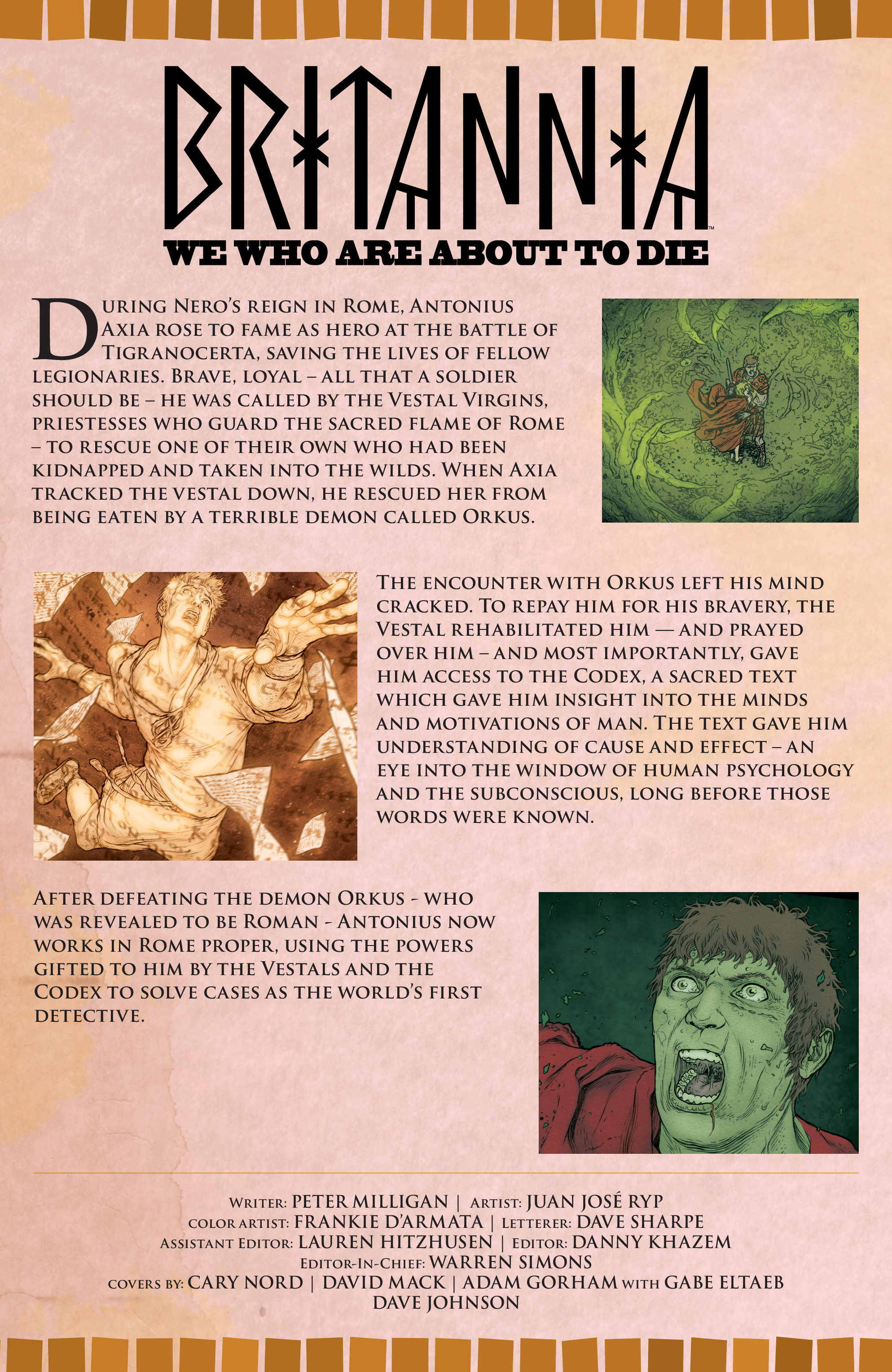 Read online Britannia: We Who Are About To Die comic -  Issue #1 - 5