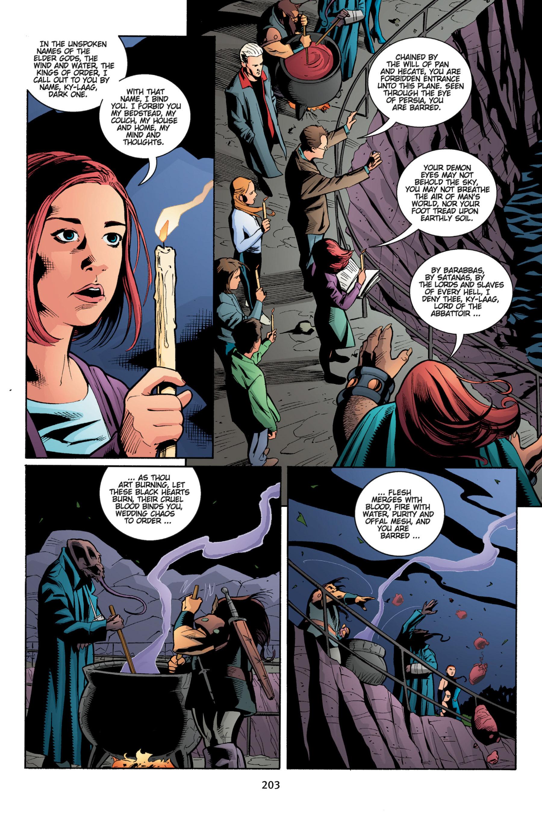 Read online Buffy the Vampire Slayer: Omnibus comic -  Issue # TPB 5 - 203