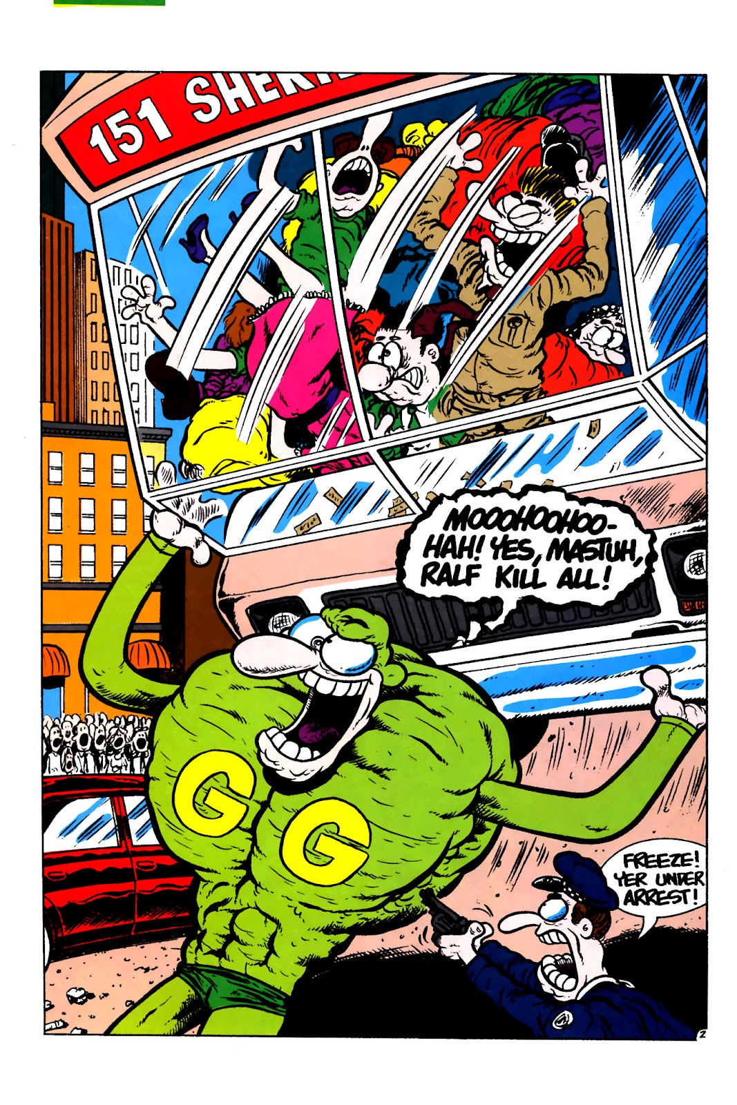 Ralph Snart Adventures (1988) issue 16 - Page 4