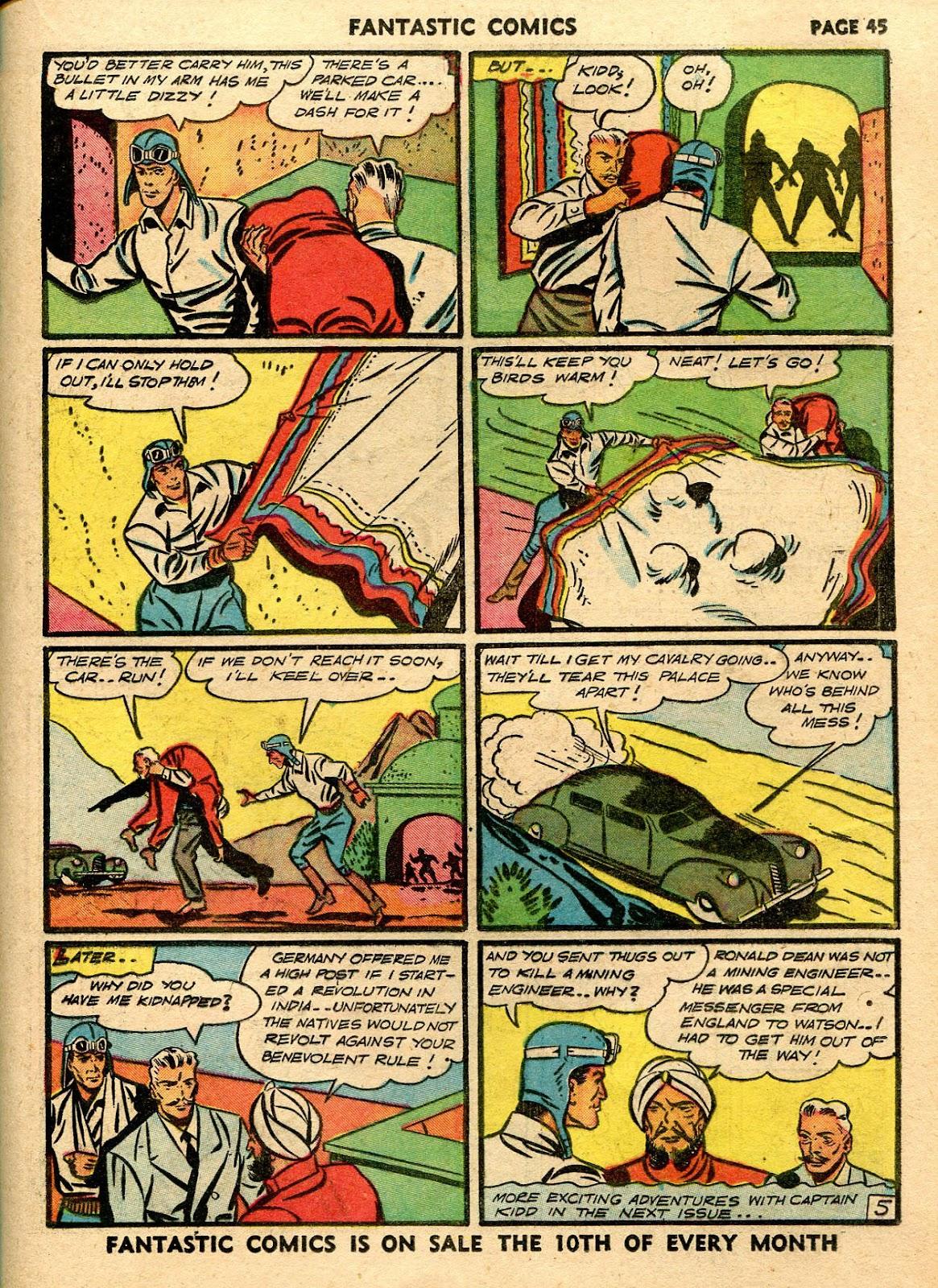 Read online Fantastic Comics comic -  Issue #21 - 43