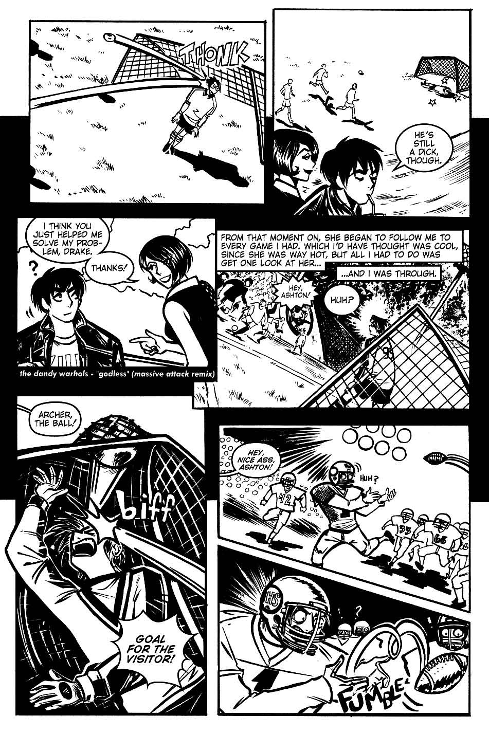 Read online Scooter Girl comic -  Issue #1 - 24