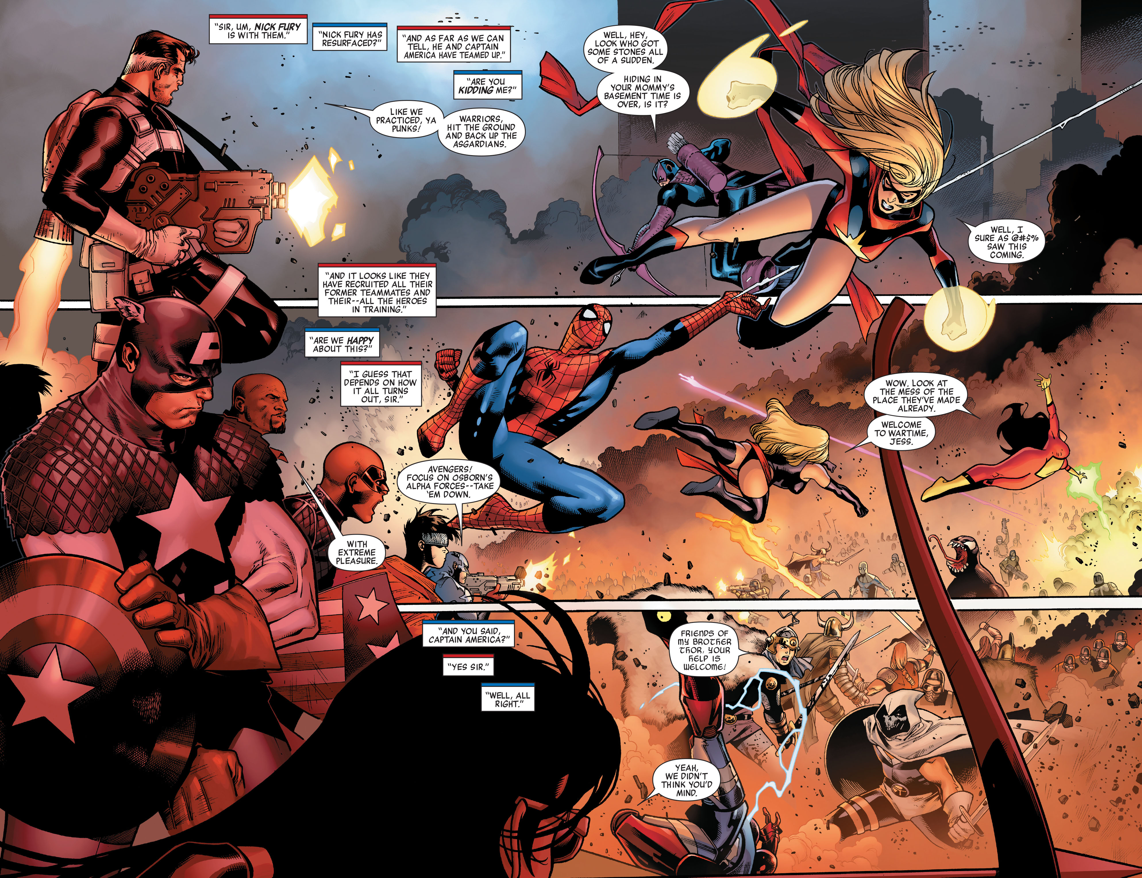 Read online Siege (2010) comic -  Issue #3 - 5