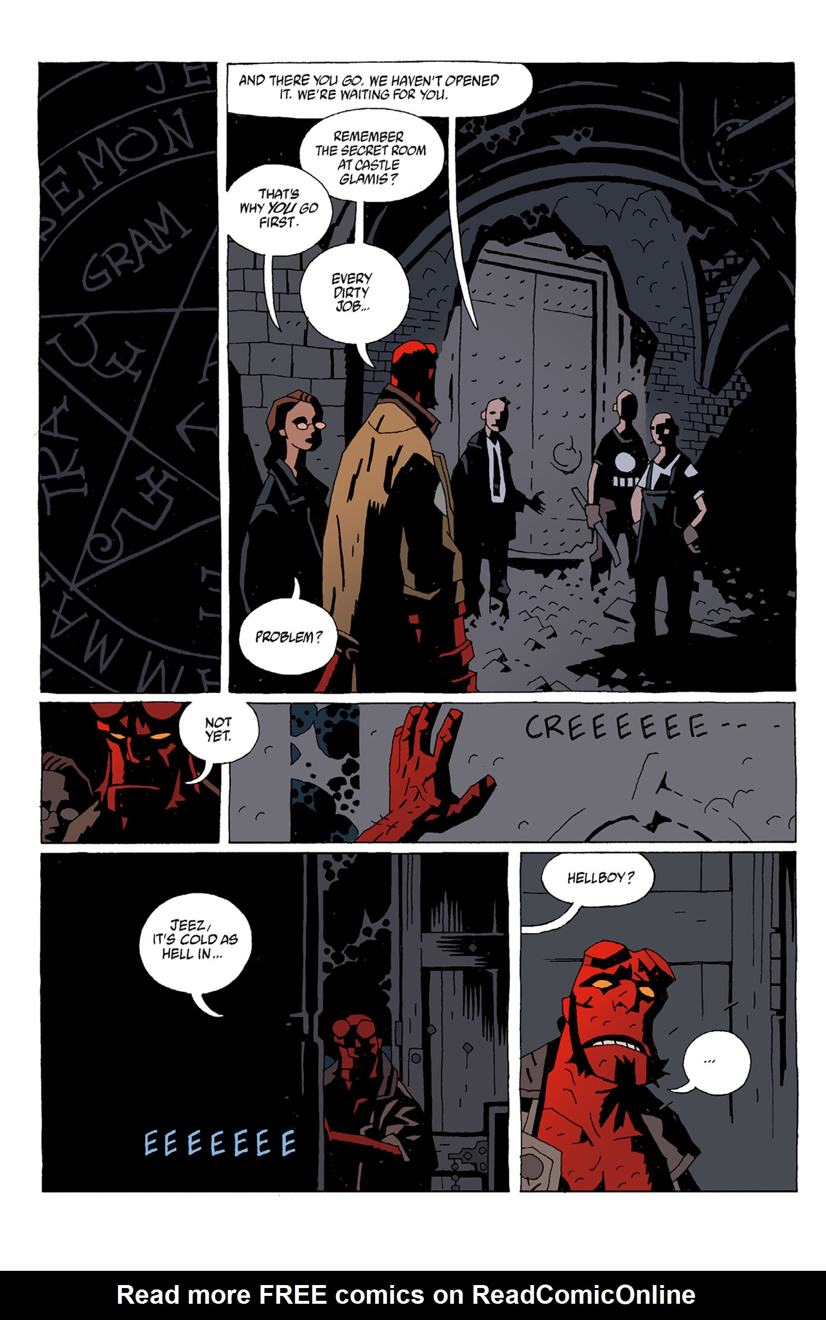 Read online Hellboy: The Troll Witch and Others comic -  Issue # TPB - 60