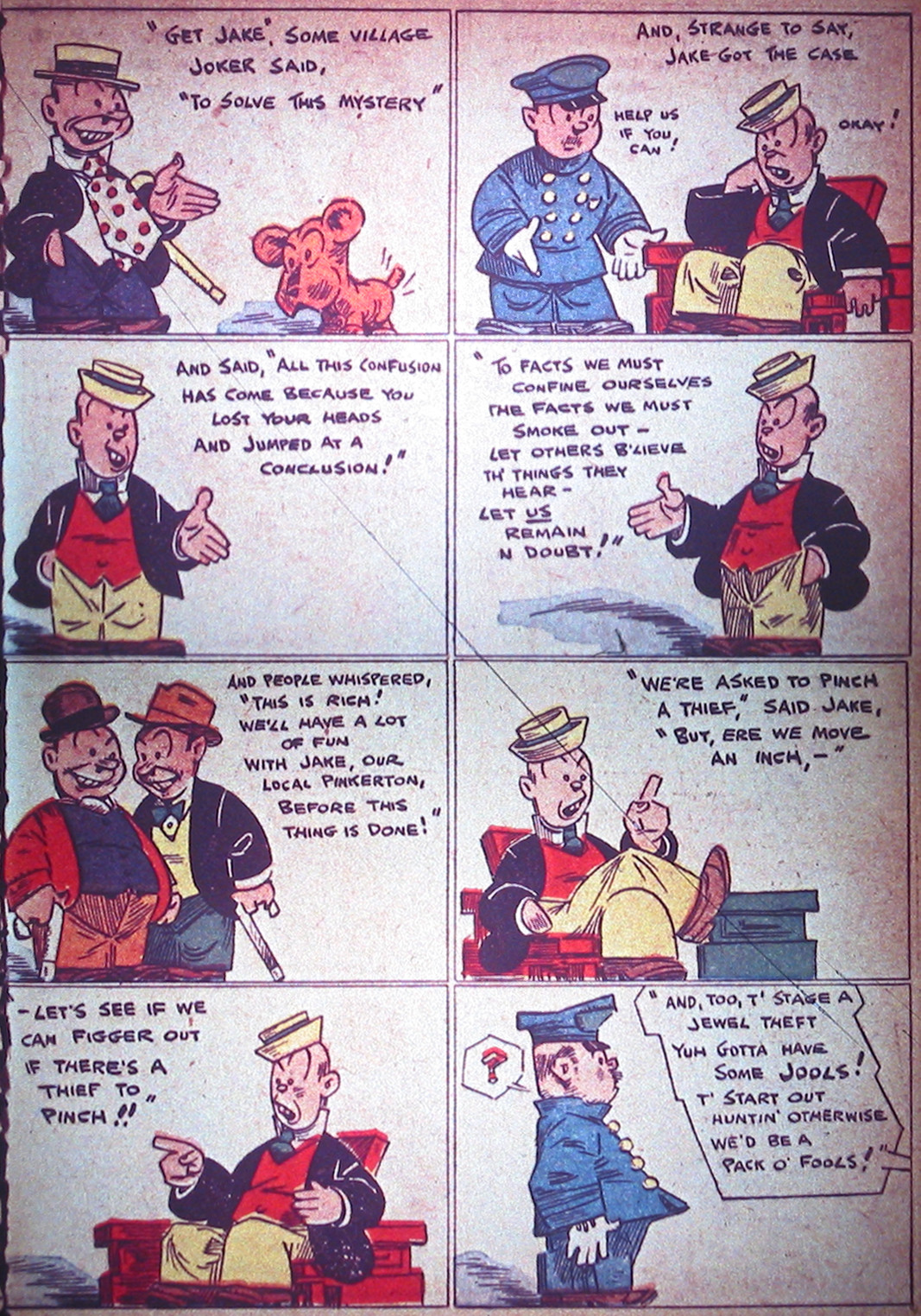 Read online Detective Comics (1937) comic -  Issue #1 - 46