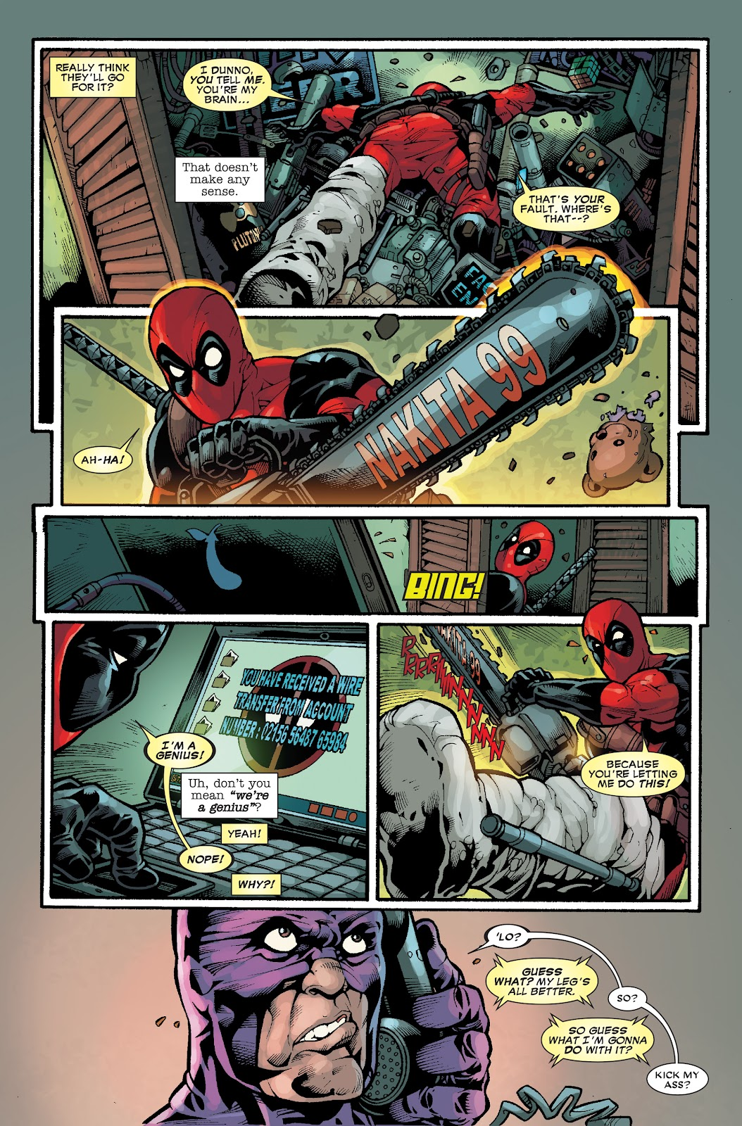 Read online Deadpool (2008) comic -  Issue #33.1 - 7