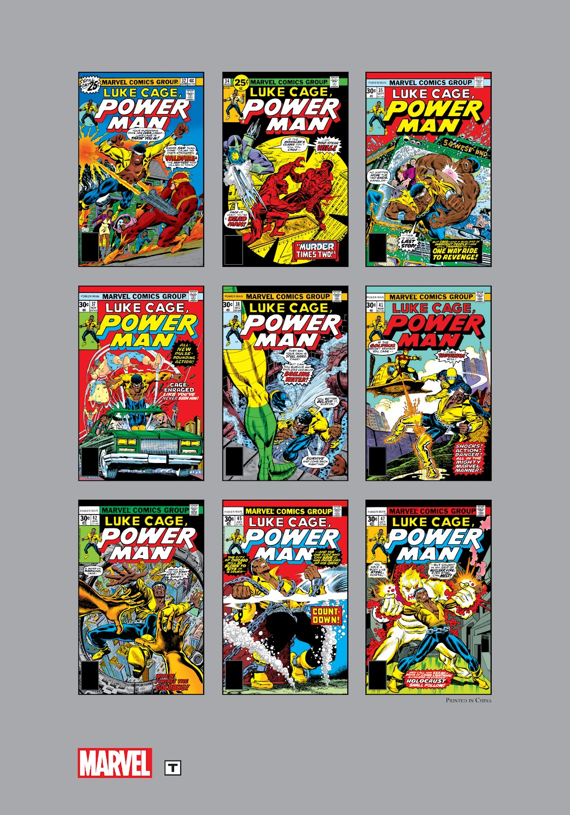 Read online Marvel Masterworks: Luke Cage, Power Man comic -  Issue # TPB 3 (Part 3) - 127