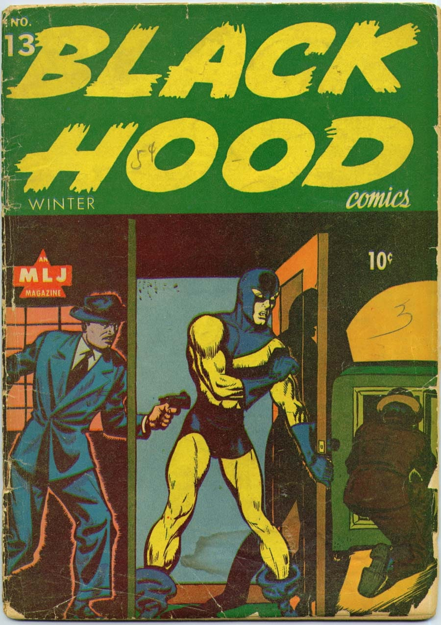 Black Hood Comics 13 Page 1