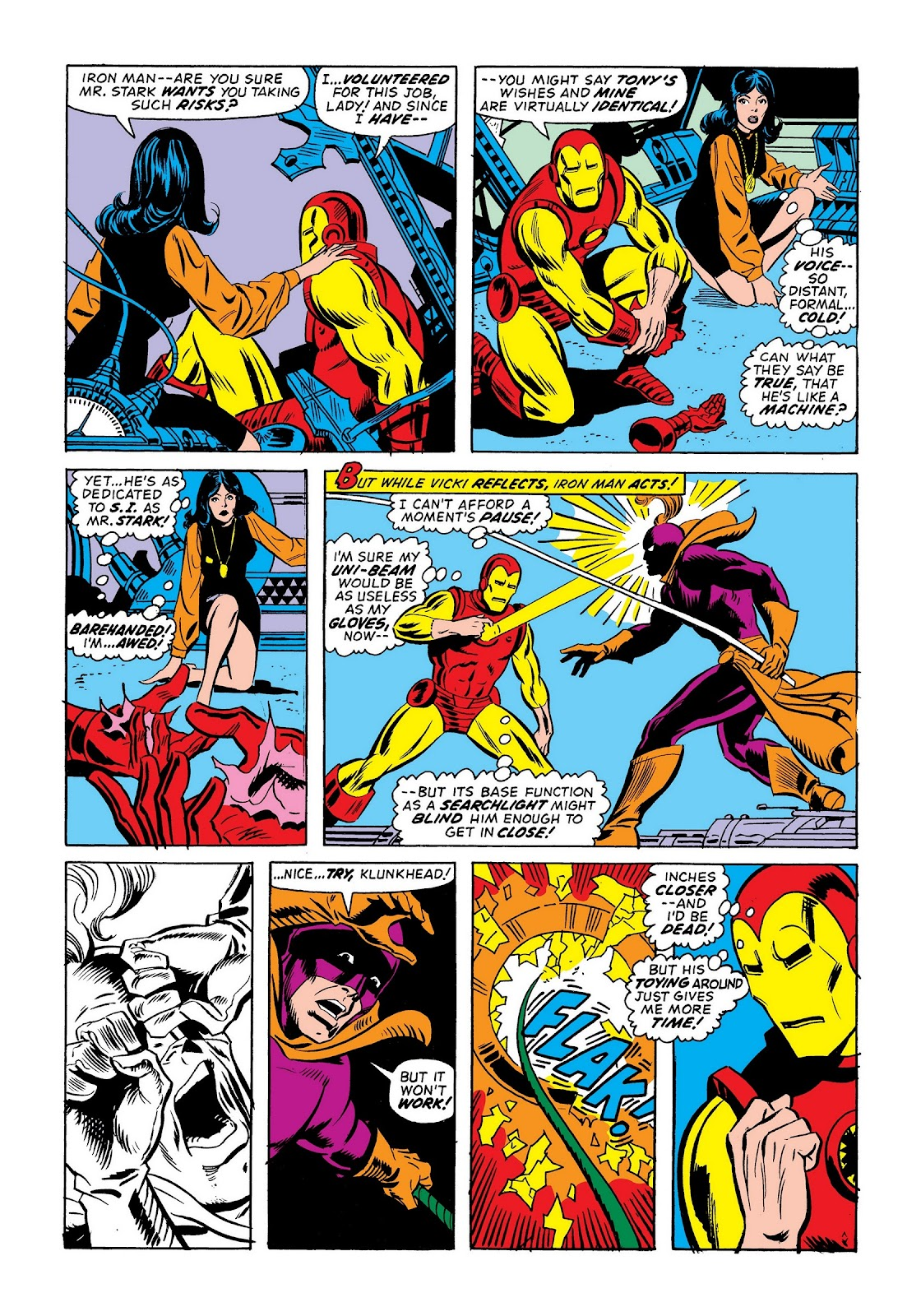 Read online Marvel Masterworks: The Invincible Iron Man comic -  Issue # TPB 9 (Part 2) - 87