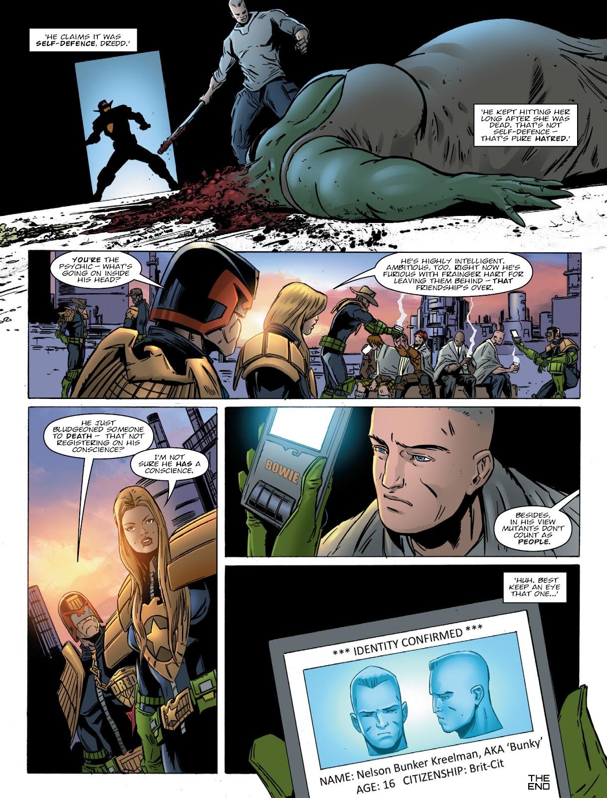 Judge Dredd Megazine (Vol. 5) Issue #381 #180 - English 14