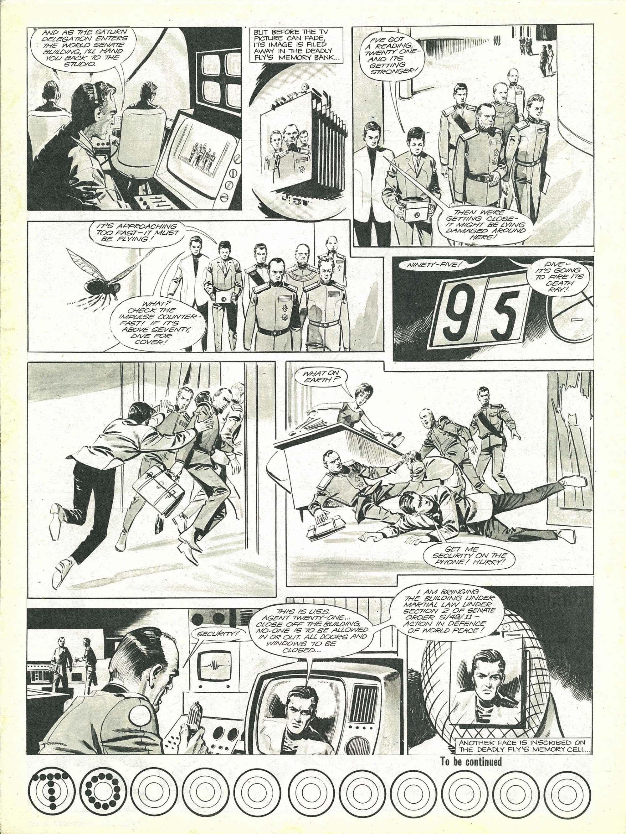 Read online TV Century 21 (TV 21) comic -  Issue #91 - 3