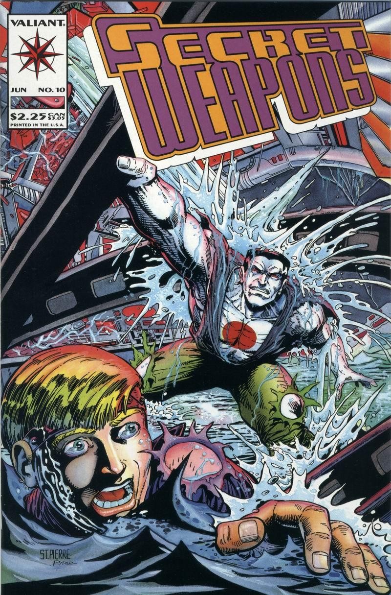 Read online Secret Weapons comic -  Issue #10 - 1