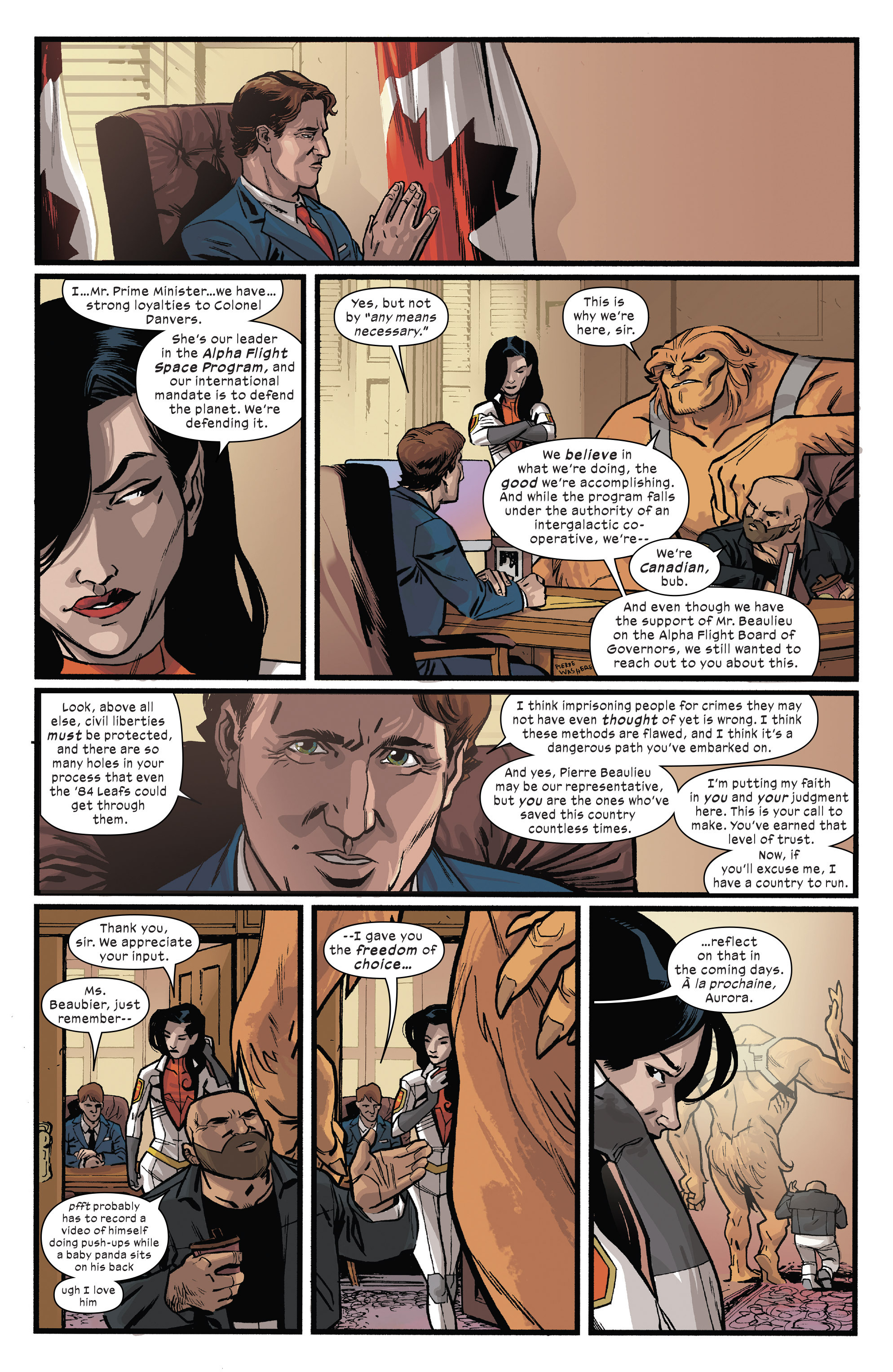 Read online Civil War II: Choosing Sides comic -  Issue #5 - 5