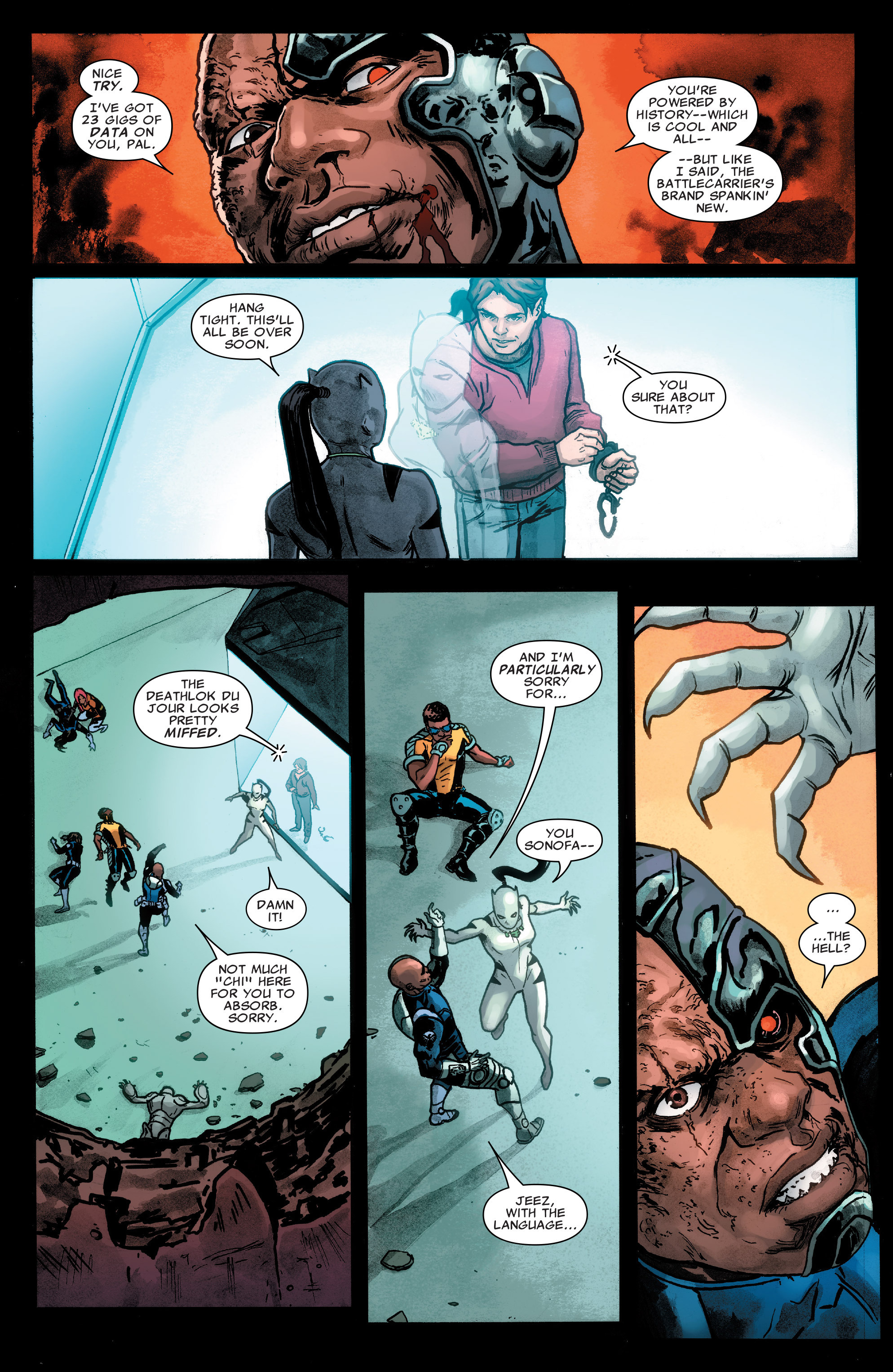 Read online Agents of S.H.I.E.L.D. comic -  Issue #4 - 9