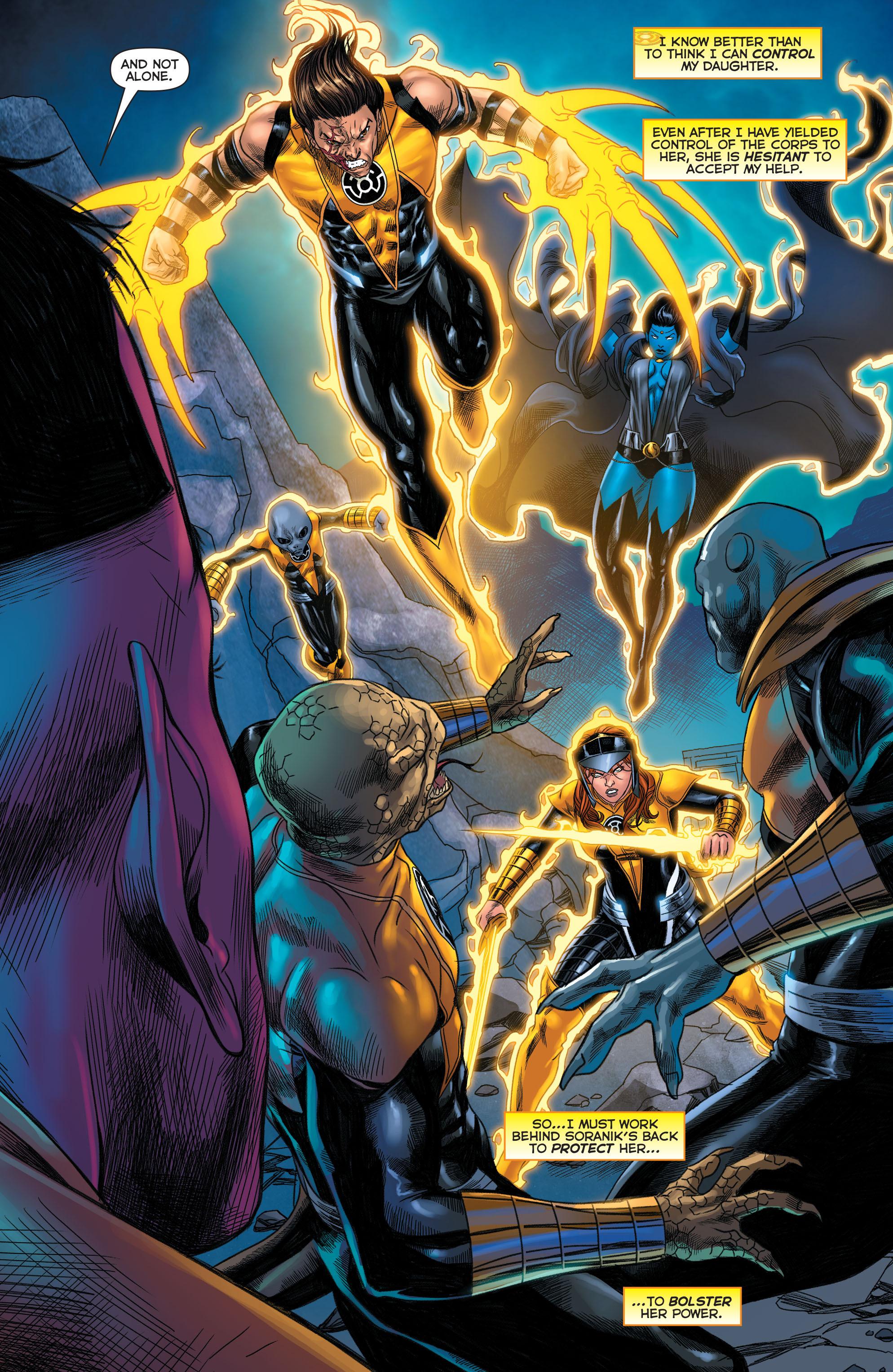Read online Sinestro comic -  Issue #22 - 12