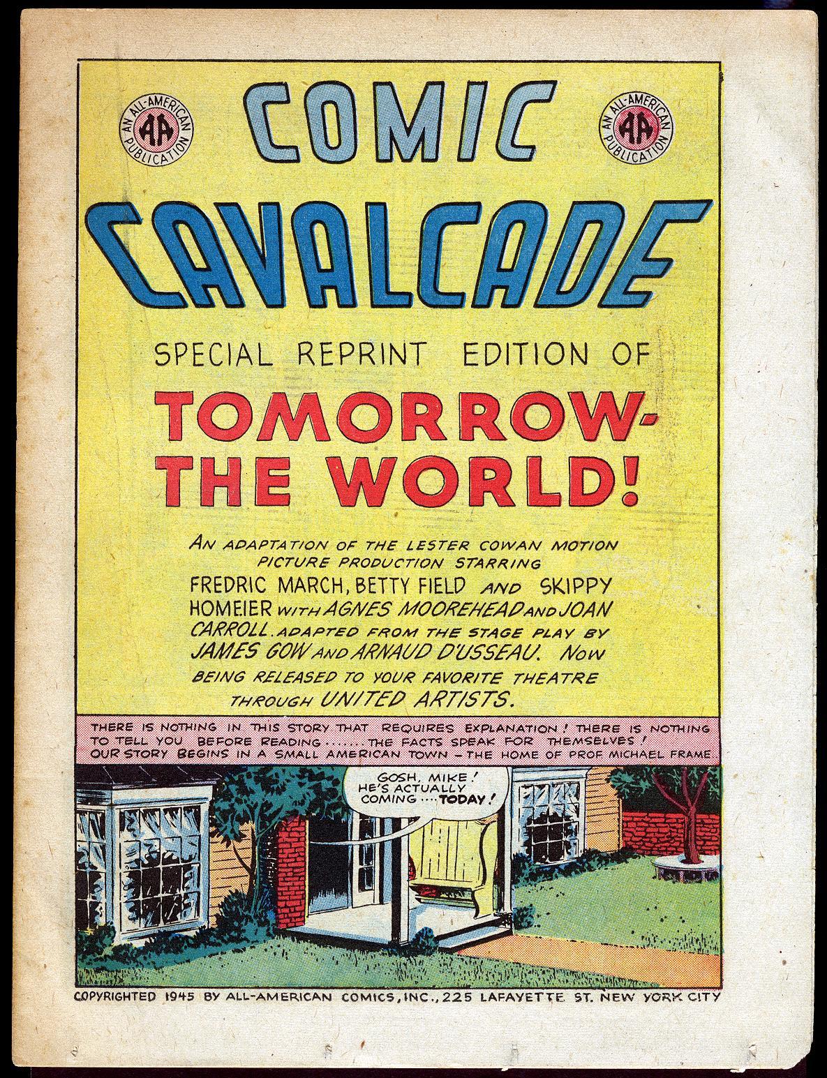 Comic Cavalcade issue 10 - Page 19
