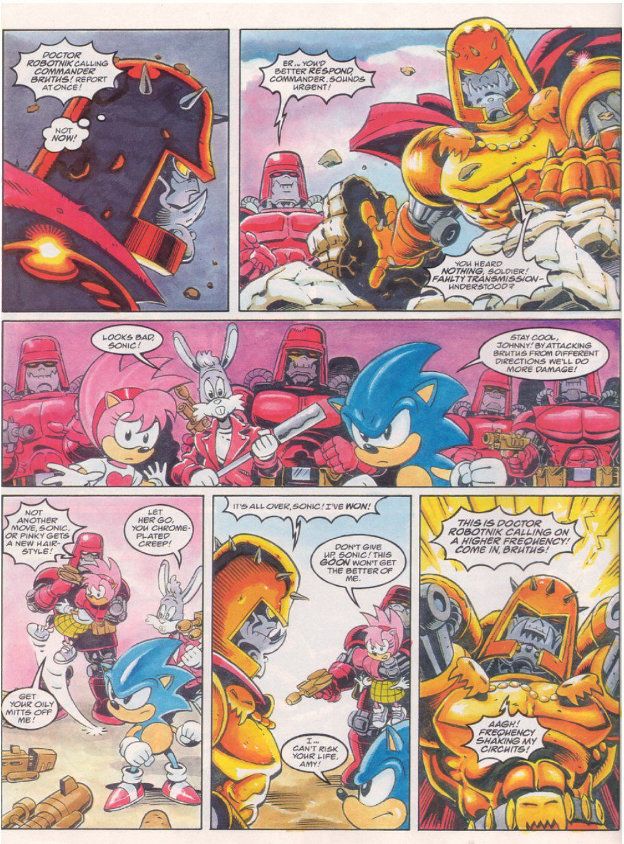 Read online Sonic the Comic comic -  Issue #64 - 8