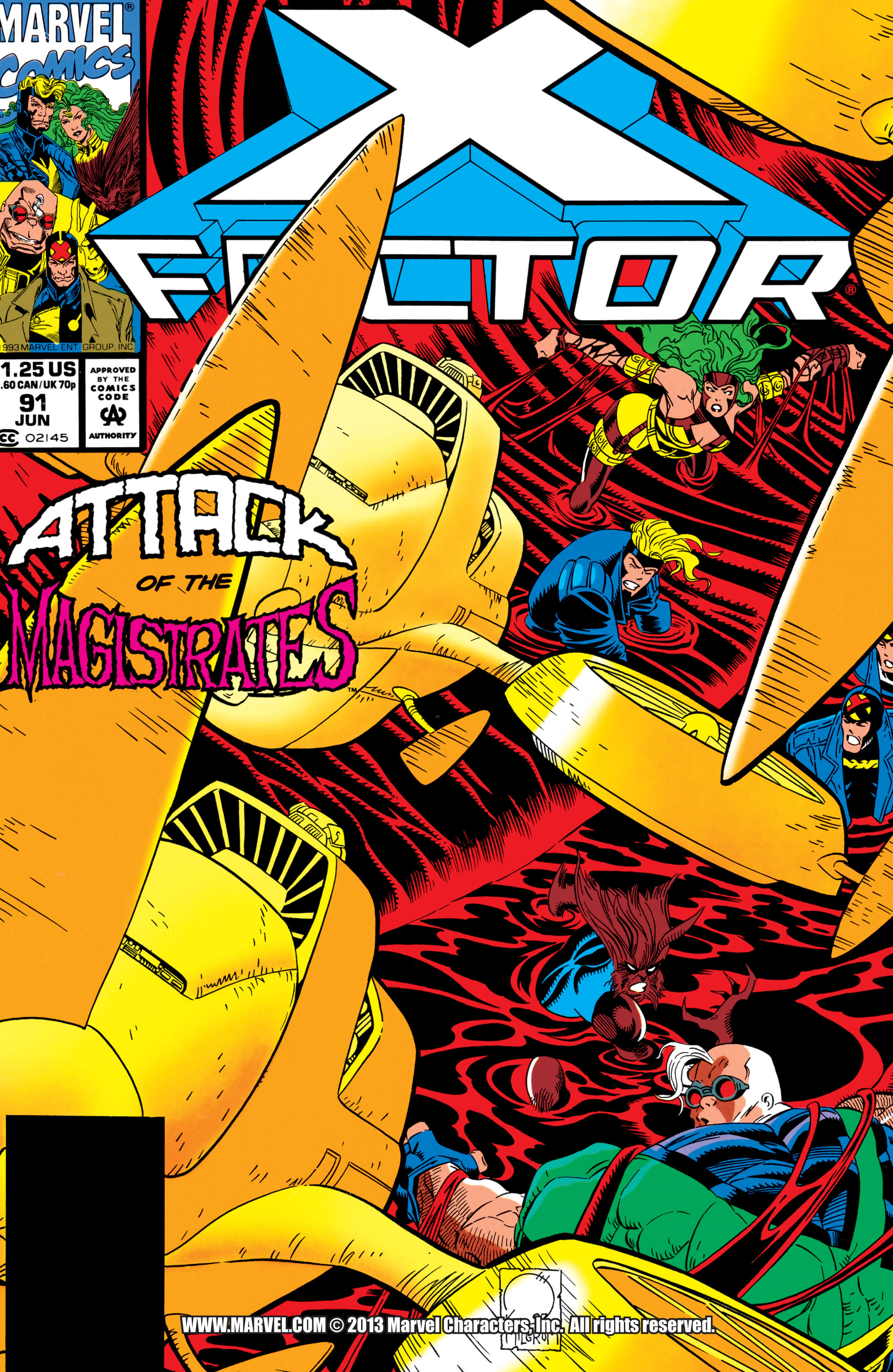 Read online X-Factor (1986) comic -  Issue #91 - 1
