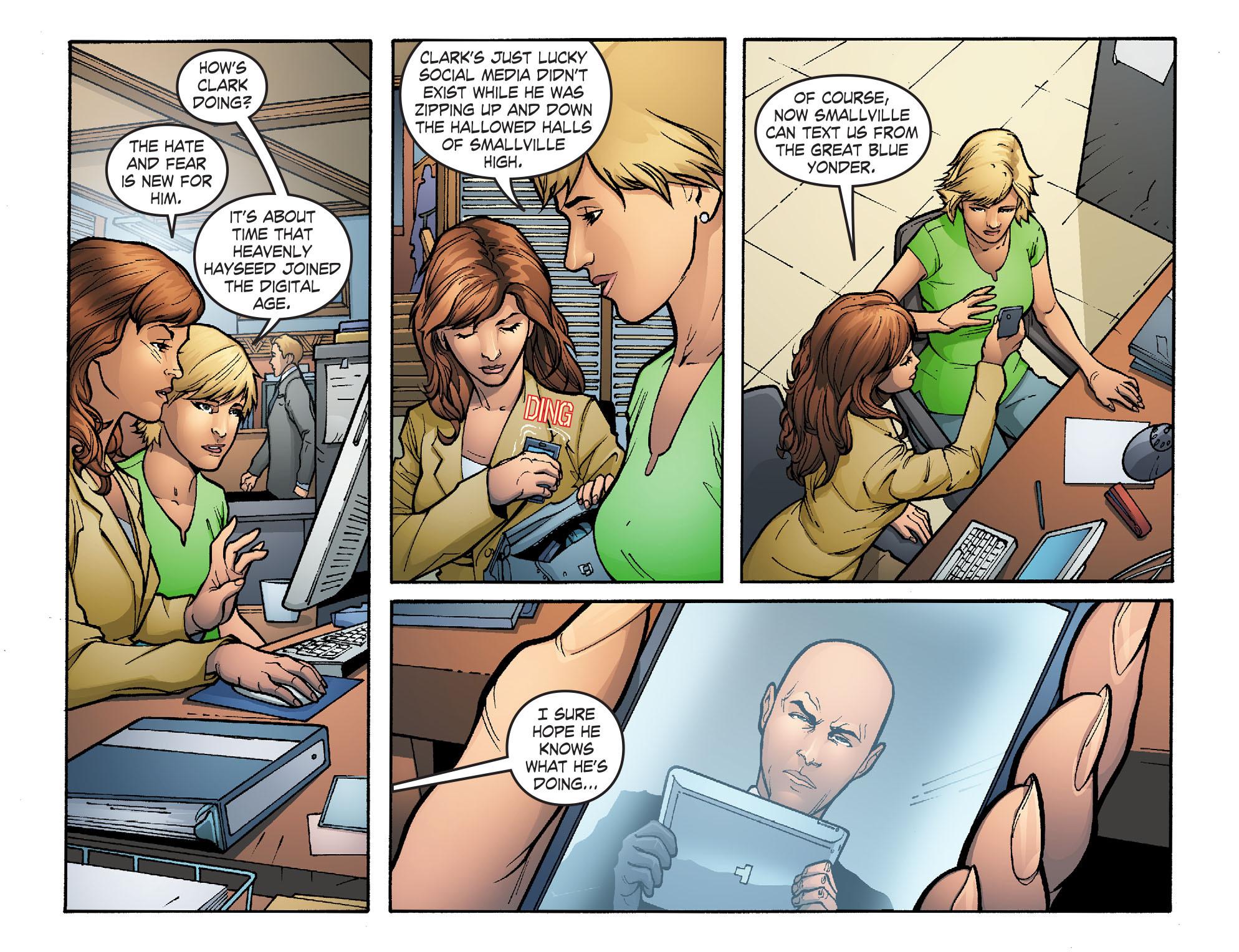 Read online Smallville: Alien comic -  Issue #3 - 6