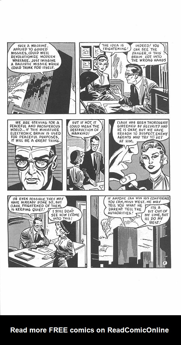 Read online Golden-Age Men of Mystery comic -  Issue #11 - 31