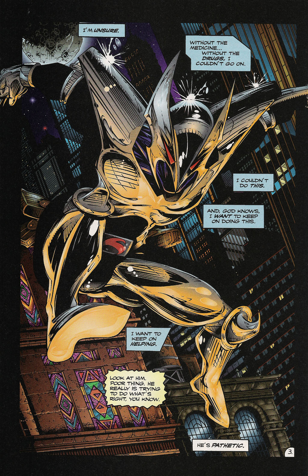 Read online ShadowHawk Gallery comic -  Issue # Full - 30