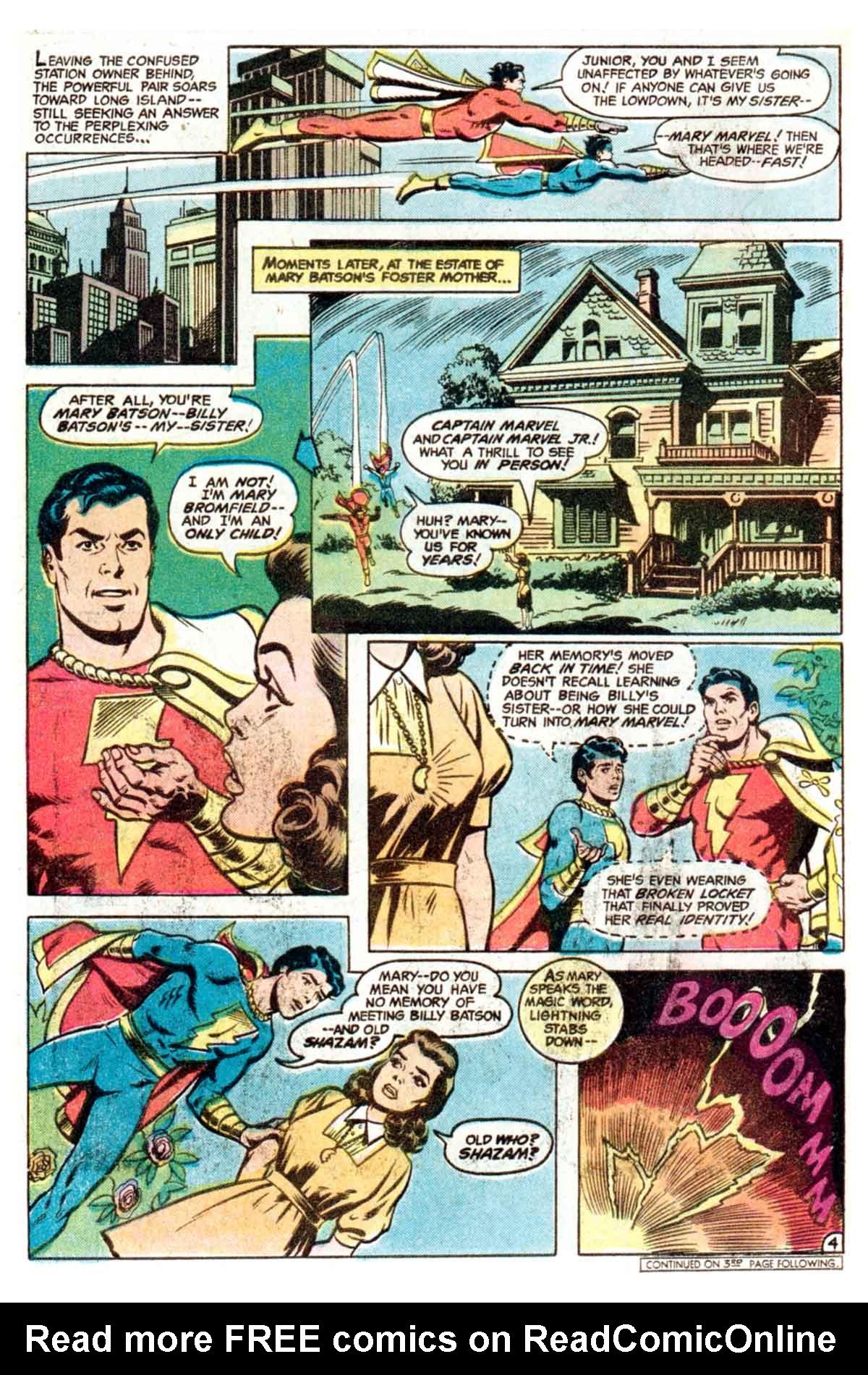 Read online Shazam! (1973) comic -  Issue #35 - 5